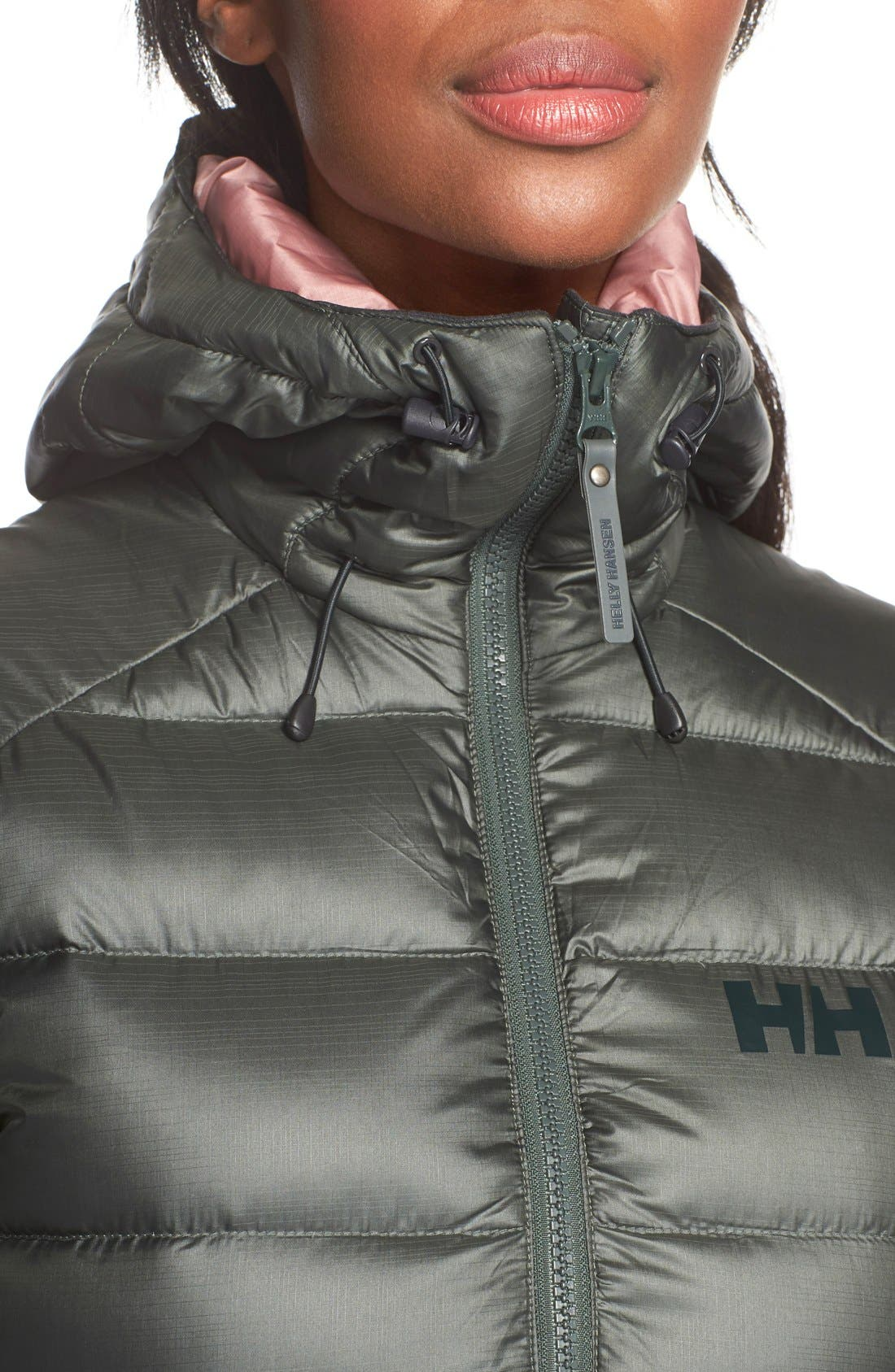 Helly Hansen Icefall Quilted Down Jacket,                             Alternate thumbnail 5, color,                             021
