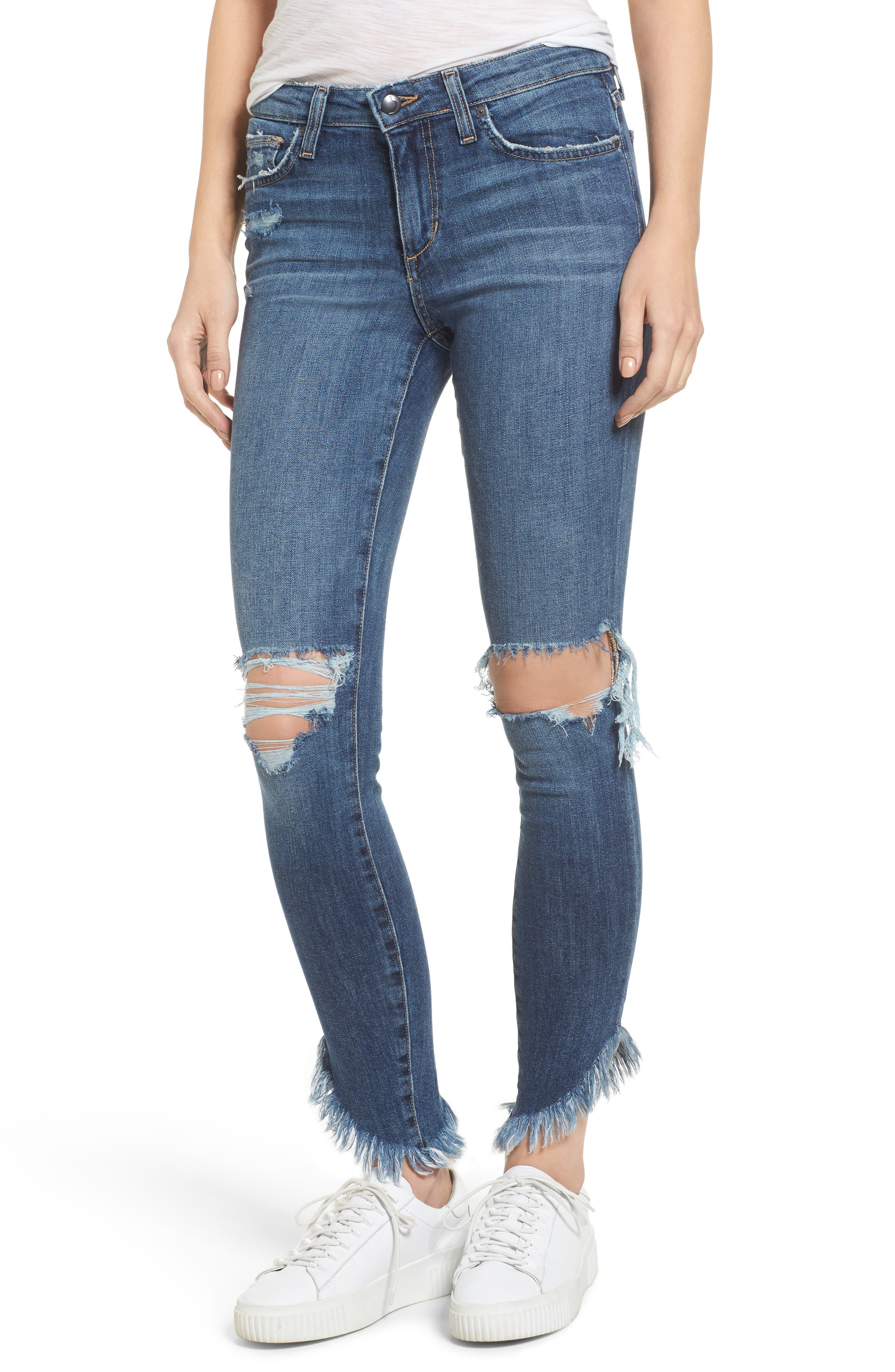 Icon Ankle Skinny Jeans,                         Main,                         color, 400