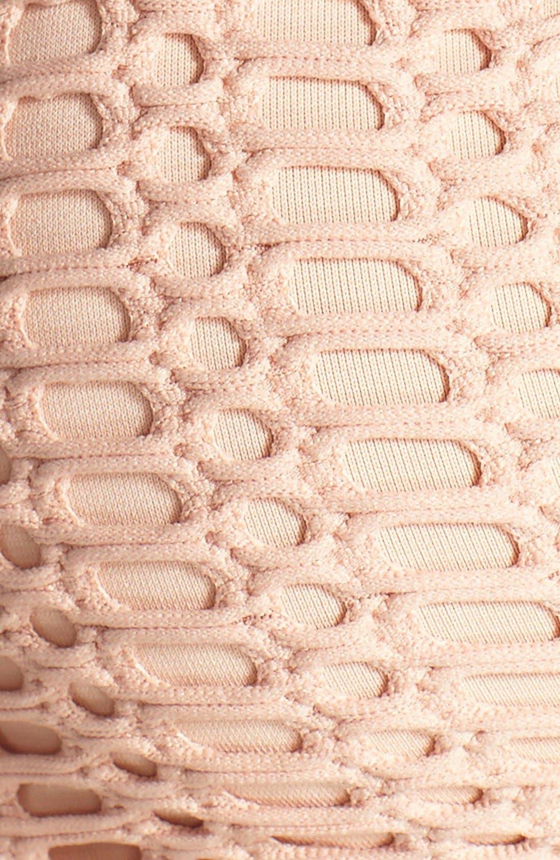 'Sophia' Crochet Halter Bikini Top,                             Alternate thumbnail 27, color,