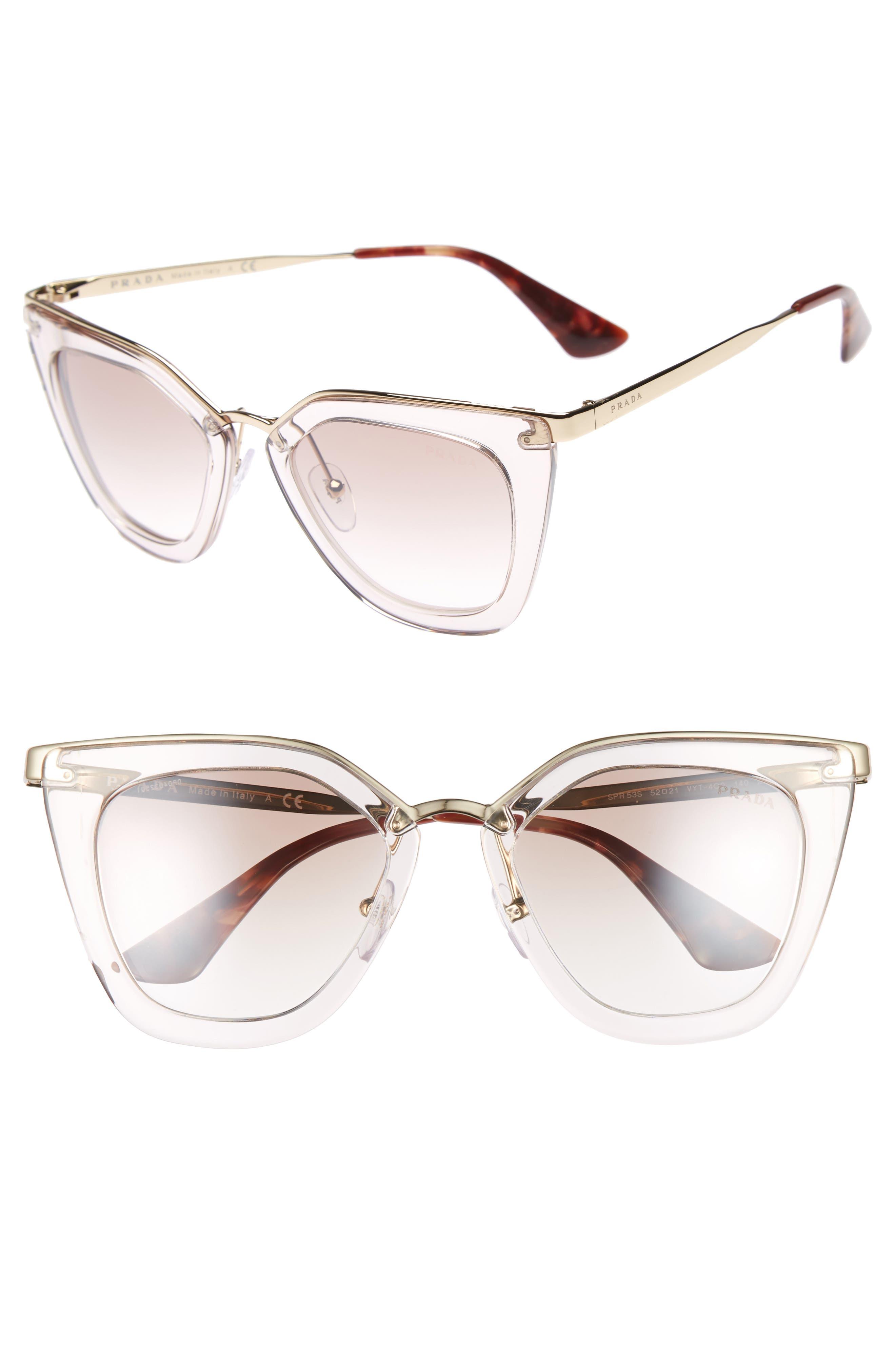 52mm Retro Sunglasses,                             Alternate thumbnail 2, color,                             200