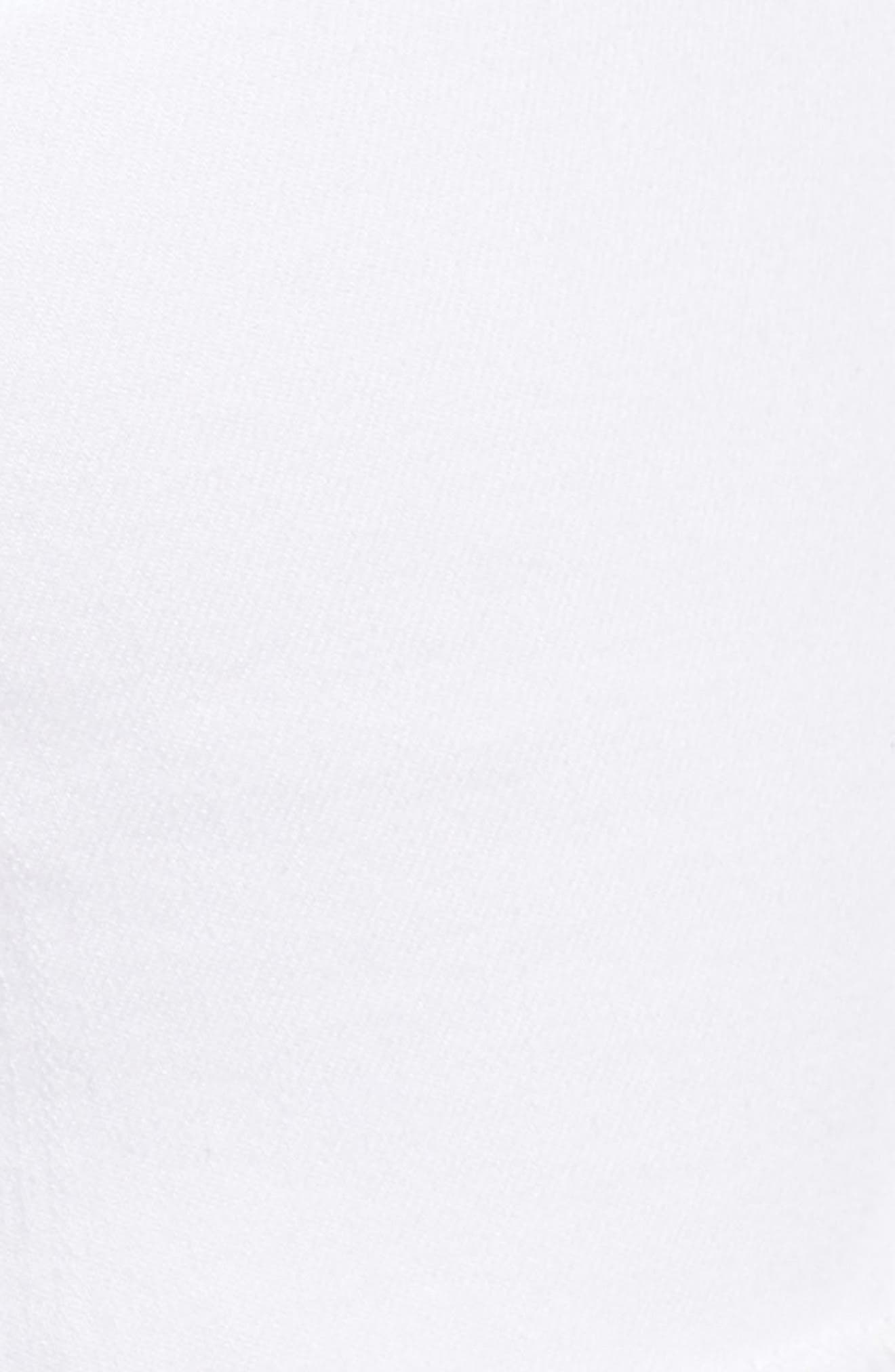 Tux Frayed Denim Shorts,                             Alternate thumbnail 5, color,