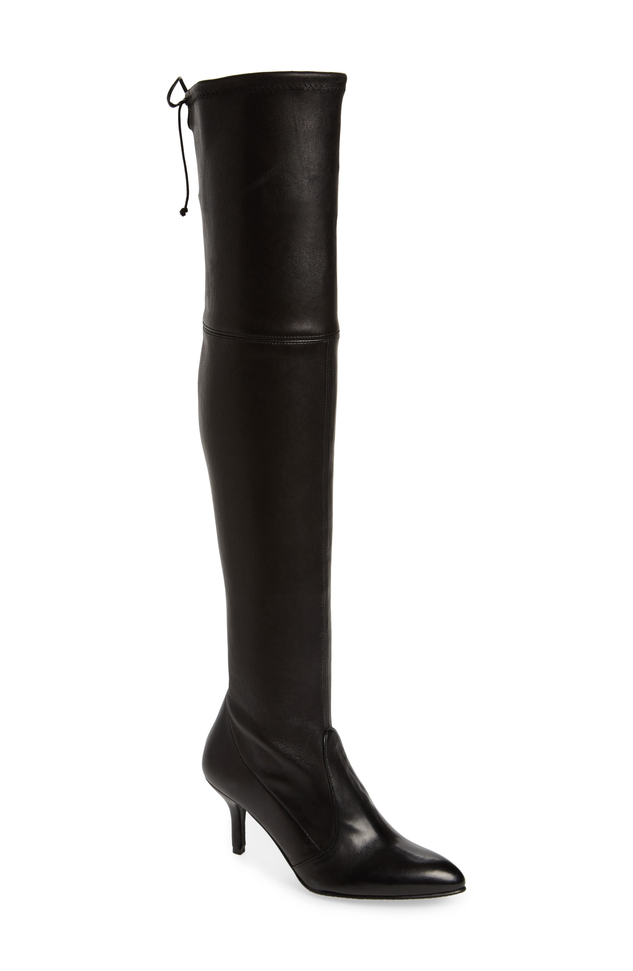 Tiemodel Over the Knee Stretch Boot,                             Main thumbnail 1, color,                             002