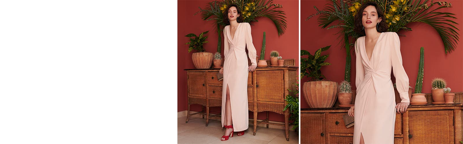 Women's wedding-guest outfits for every dress code.