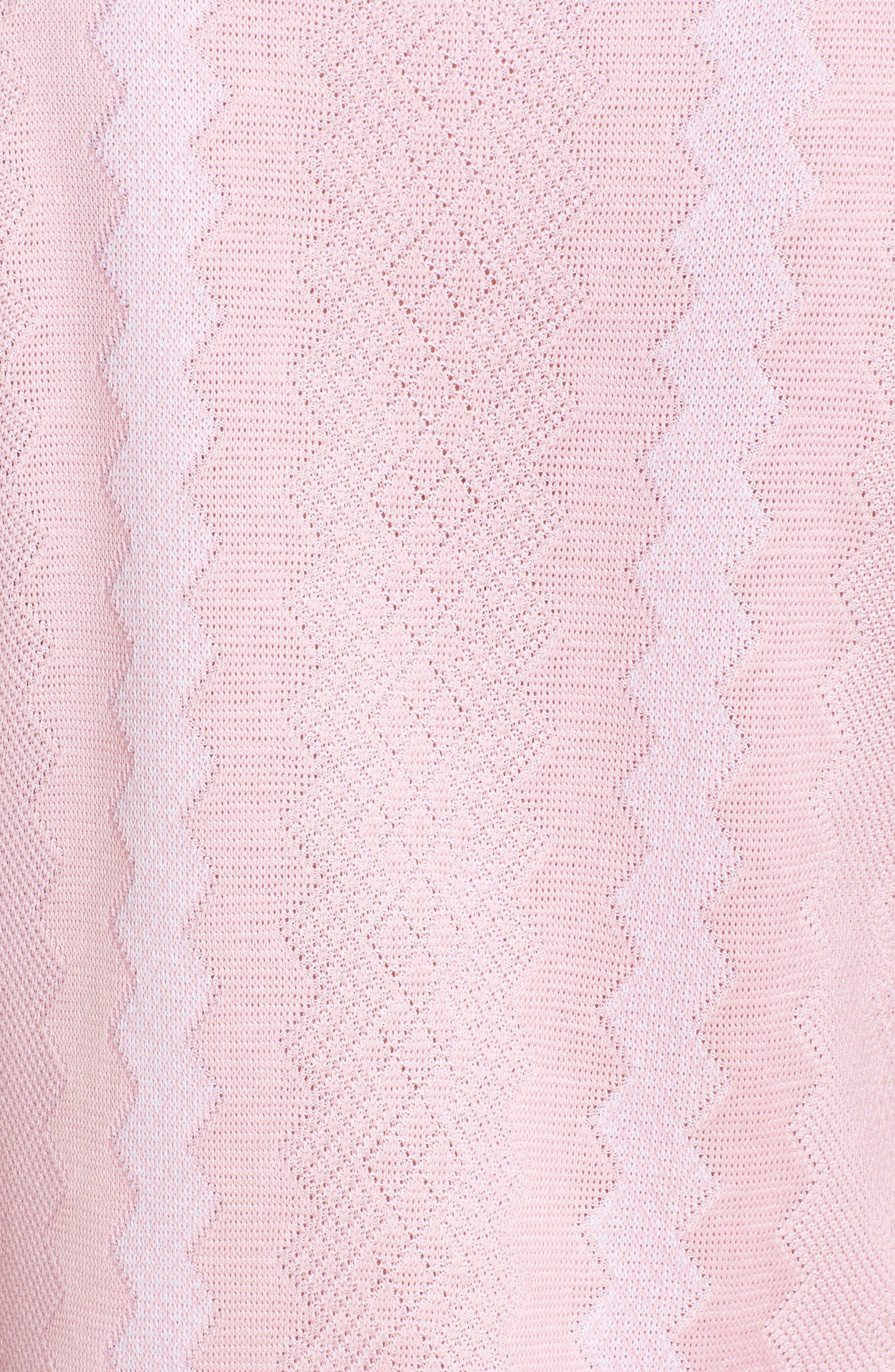 Sleeveless Knit Sheath Dress,                             Alternate thumbnail 6, color,                             688