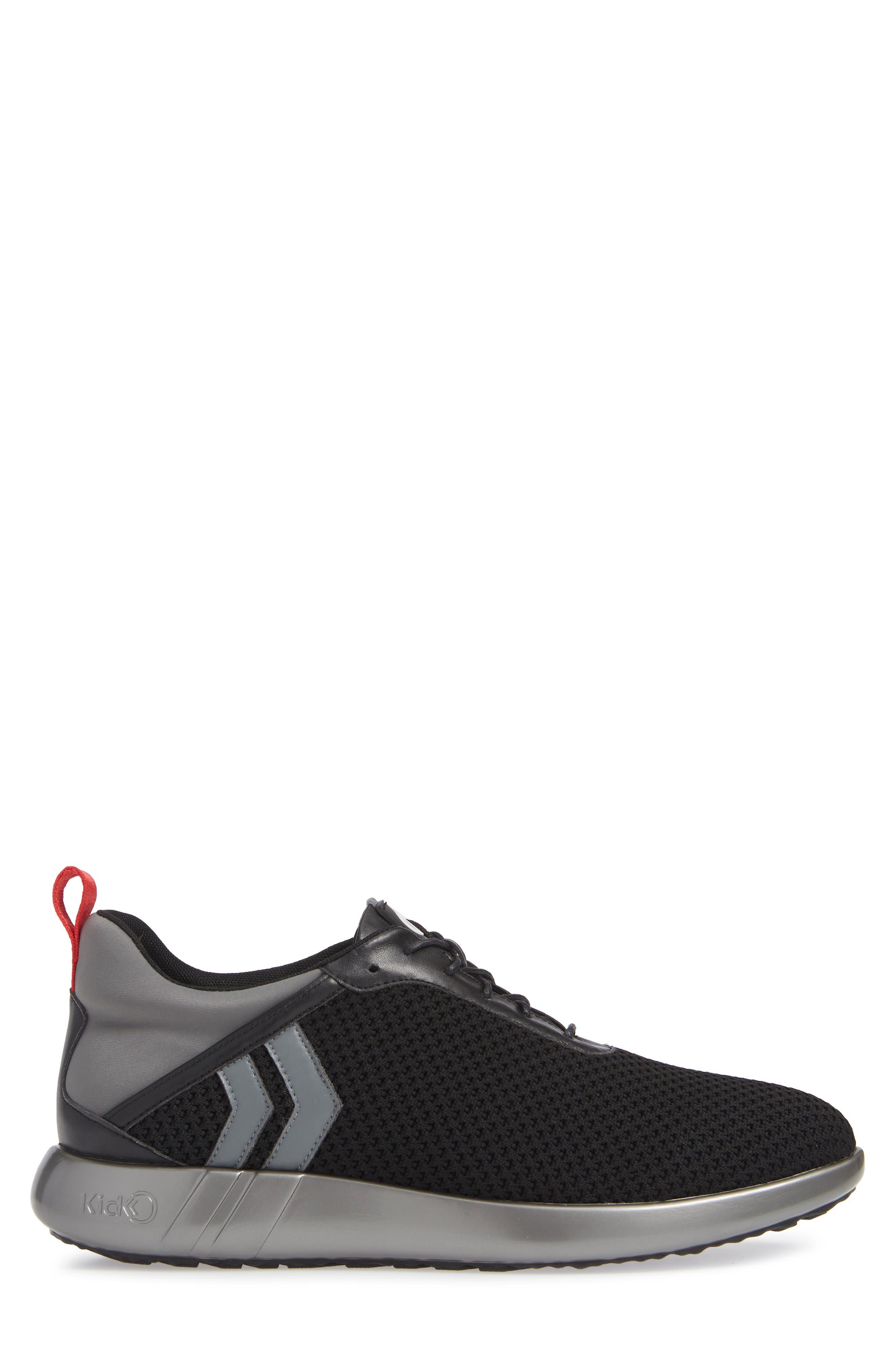 Mesh Sneaker,                             Alternate thumbnail 3, color,                             001