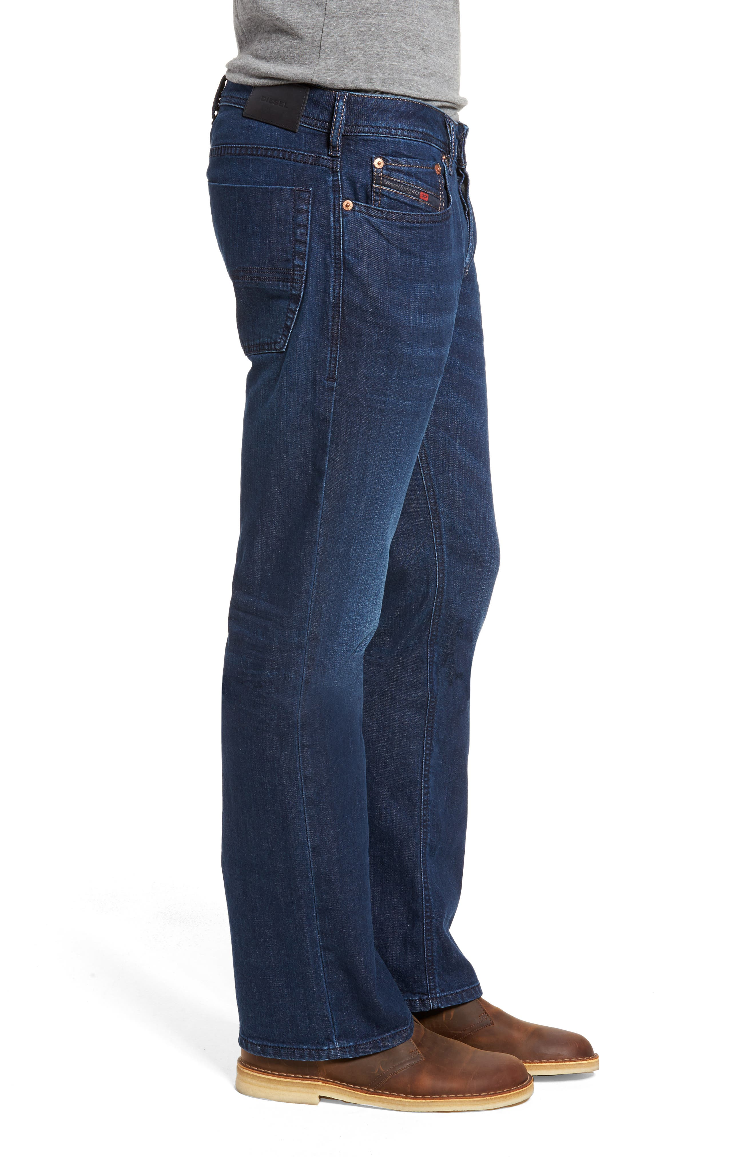 Zatiny Bootcut Jeans,                             Alternate thumbnail 3, color,                             400