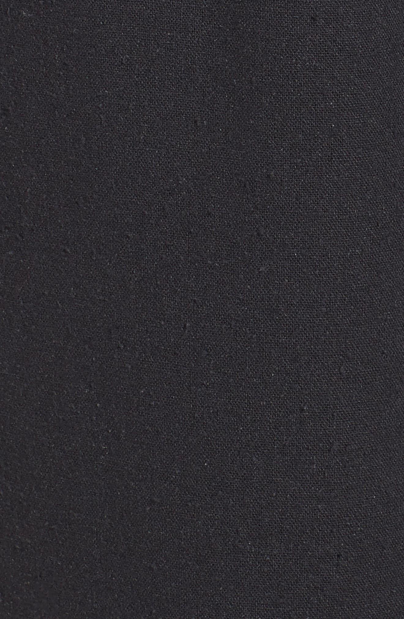 Silk Noil Wide Leg Pants,                             Alternate thumbnail 6, color,                             025
