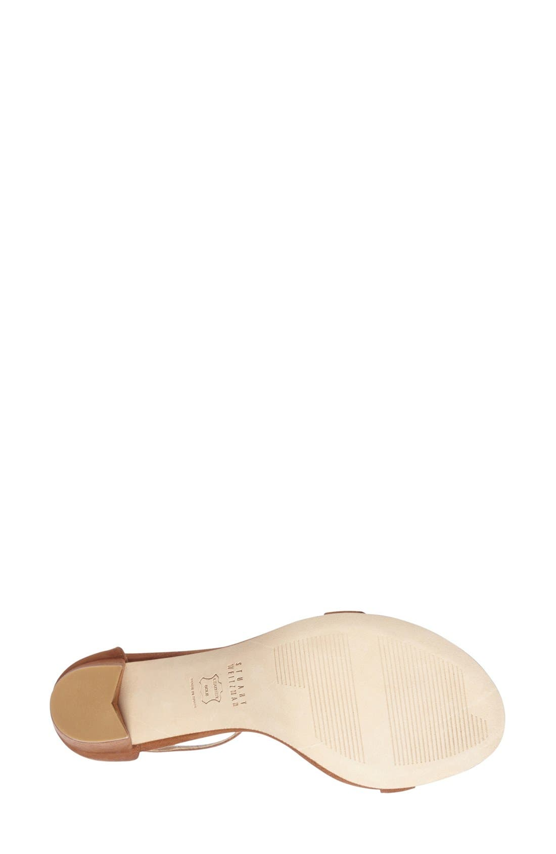 NearlyNude Ankle Strap Sandal,                             Alternate thumbnail 98, color,