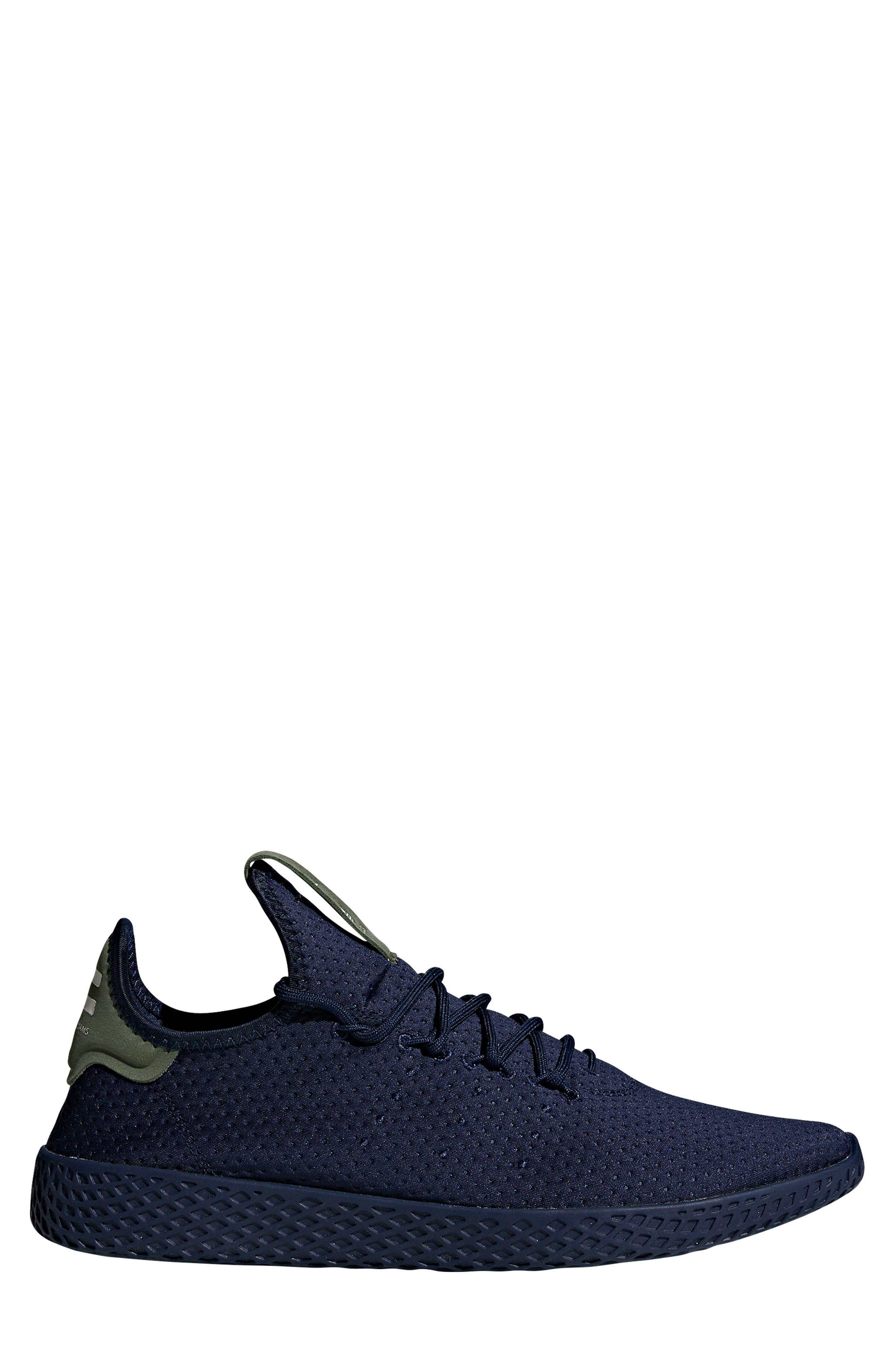 Pharrell Williams Tennis Hu Sneaker,                             Alternate thumbnail 3, color,                             415