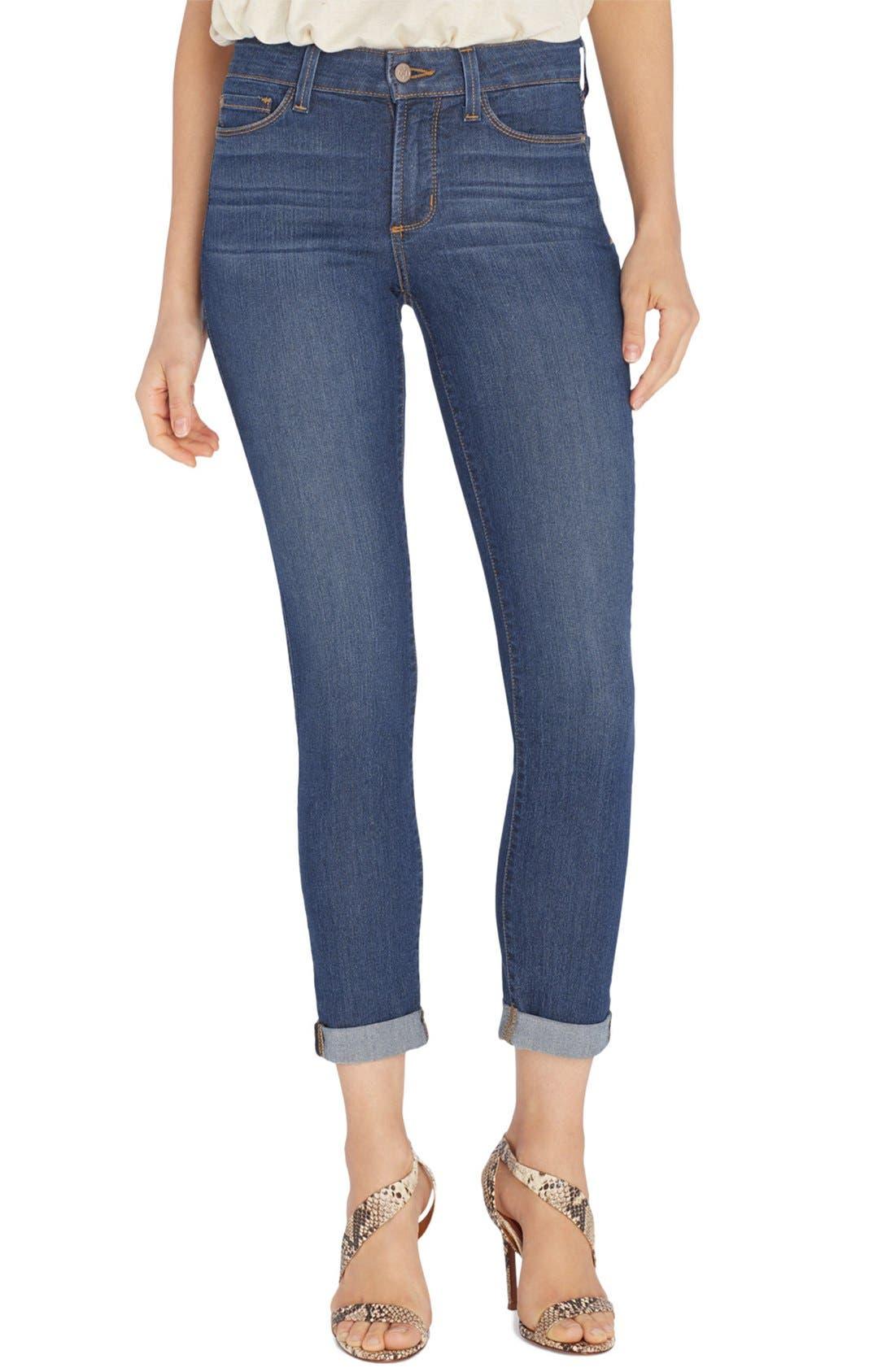'Annabelle' Stretch Boyfriend Jeans,                             Main thumbnail 1, color,                             401