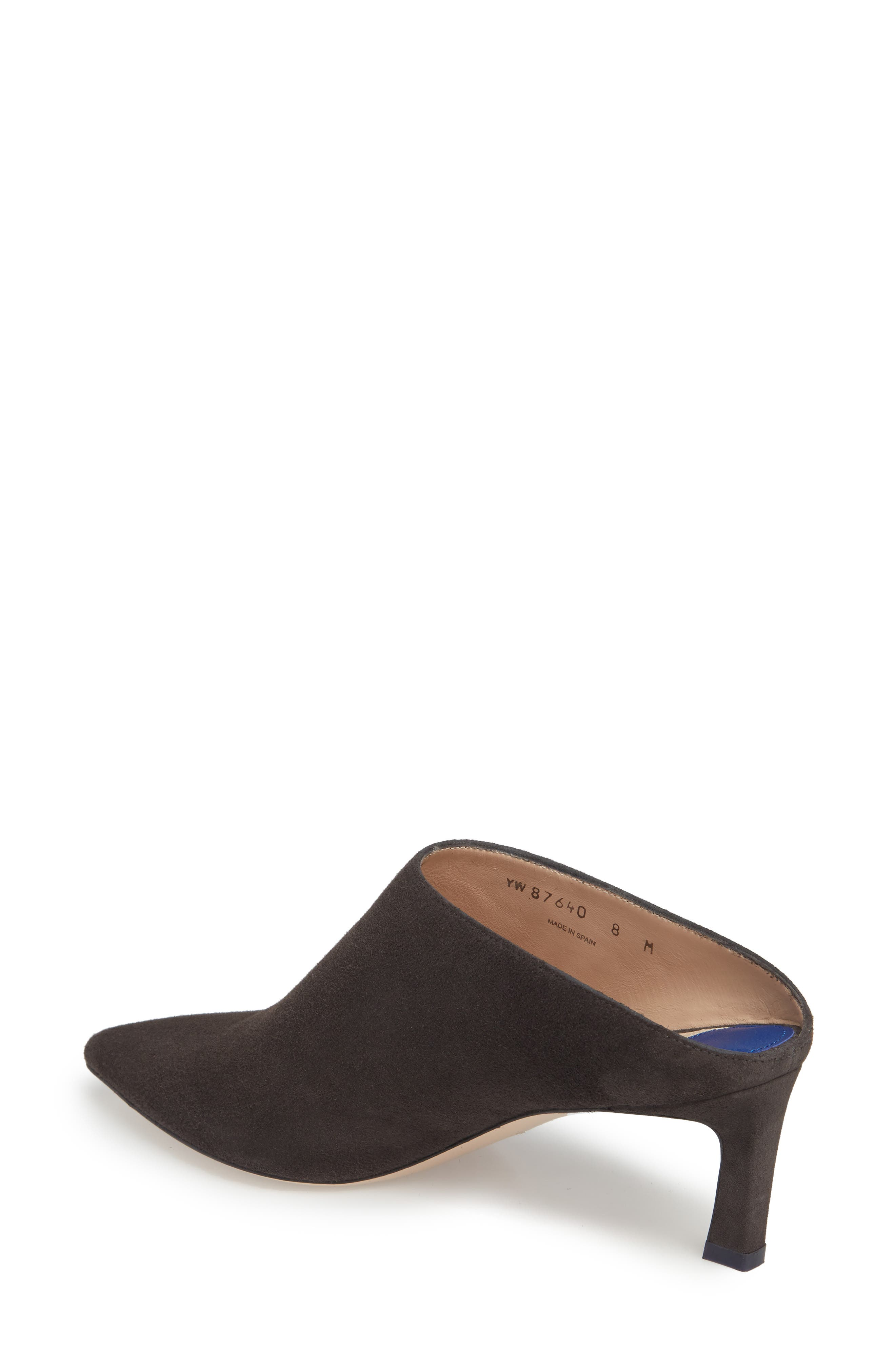 Mira Pointy Toe Mule,                             Alternate thumbnail 12, color,