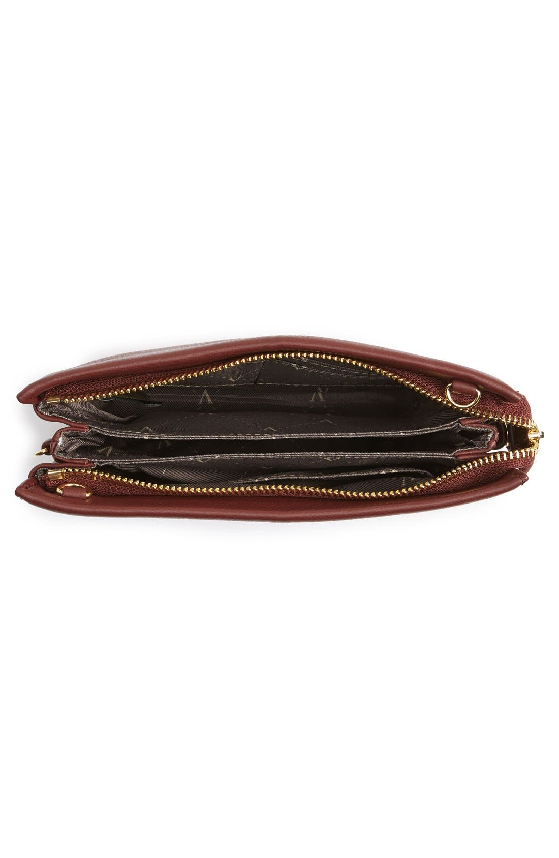 'Cami' Leather Crossbody Bag,                             Alternate thumbnail 131, color,