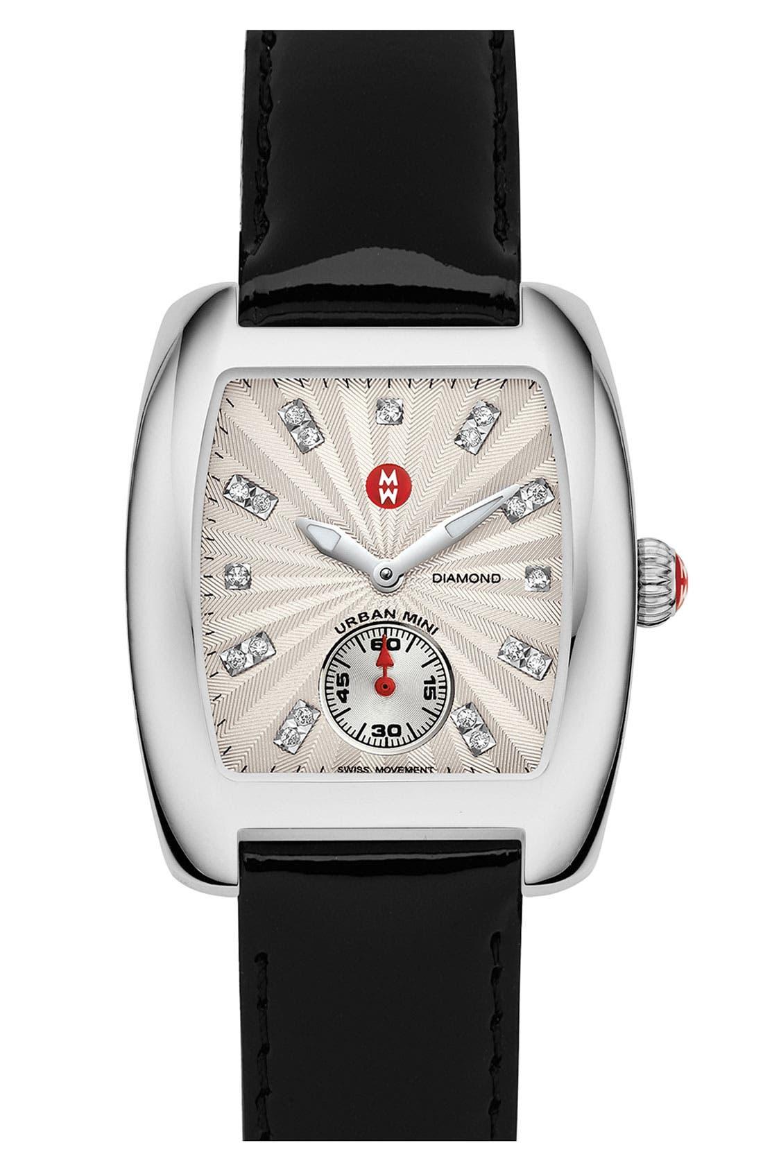 Urban Mini Diamond Dial Watch Case, 29mm x 30mm,                             Alternate thumbnail 5, color,                             040