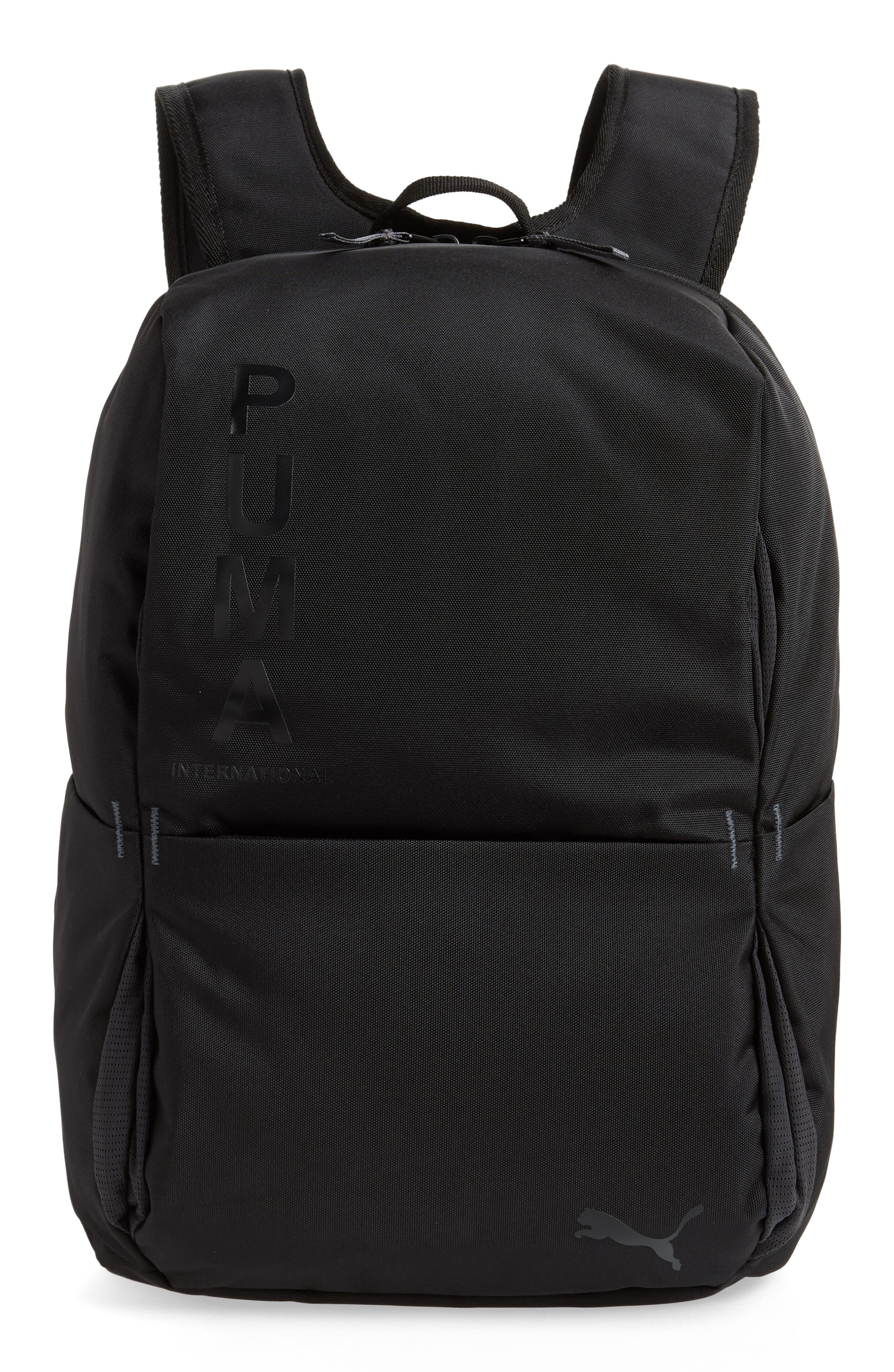 Ace Backpack,                         Main,                         color, BLACK