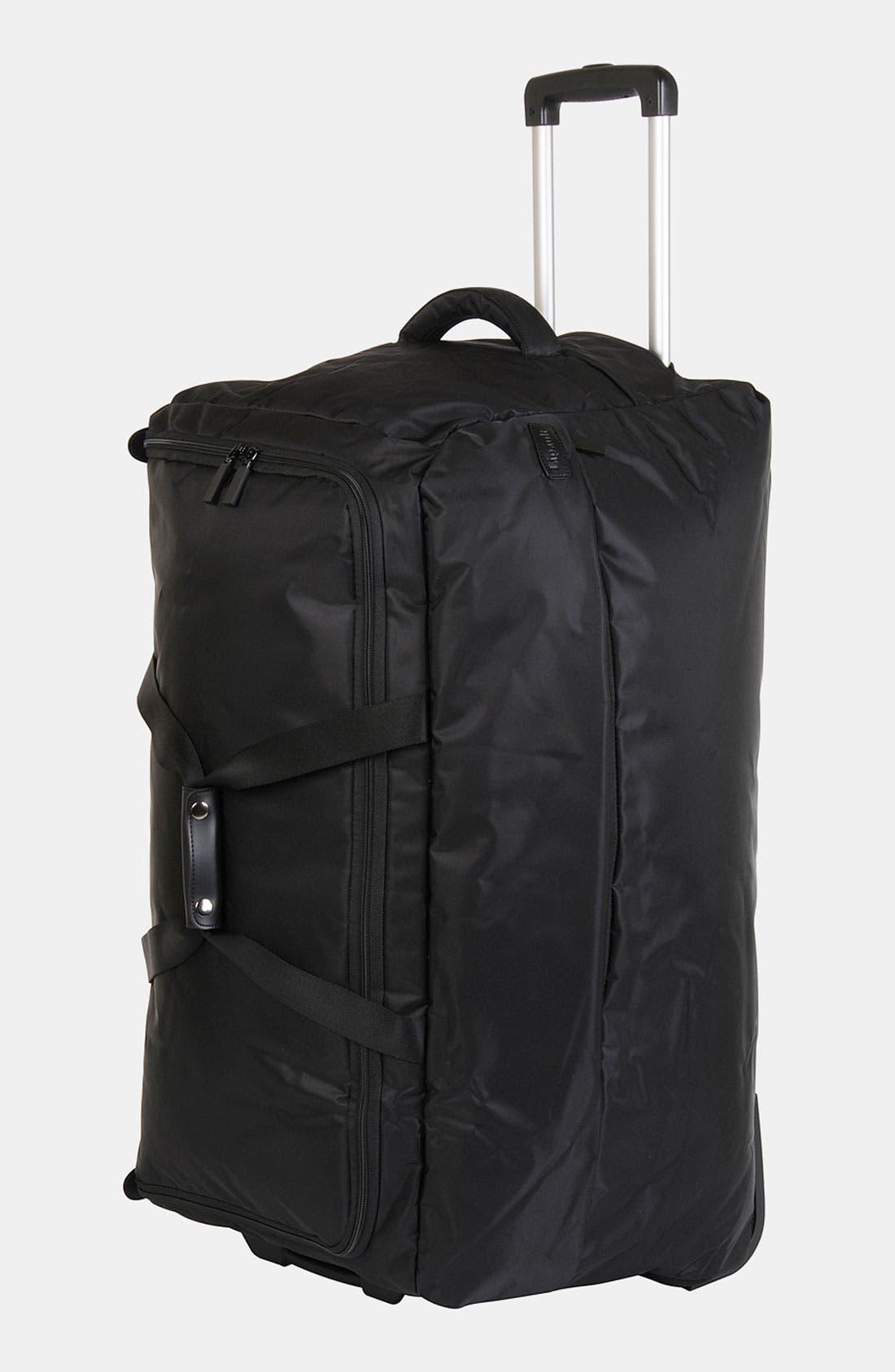 Foldable Rolling Duffel Bag,                             Alternate thumbnail 6, color,                             001