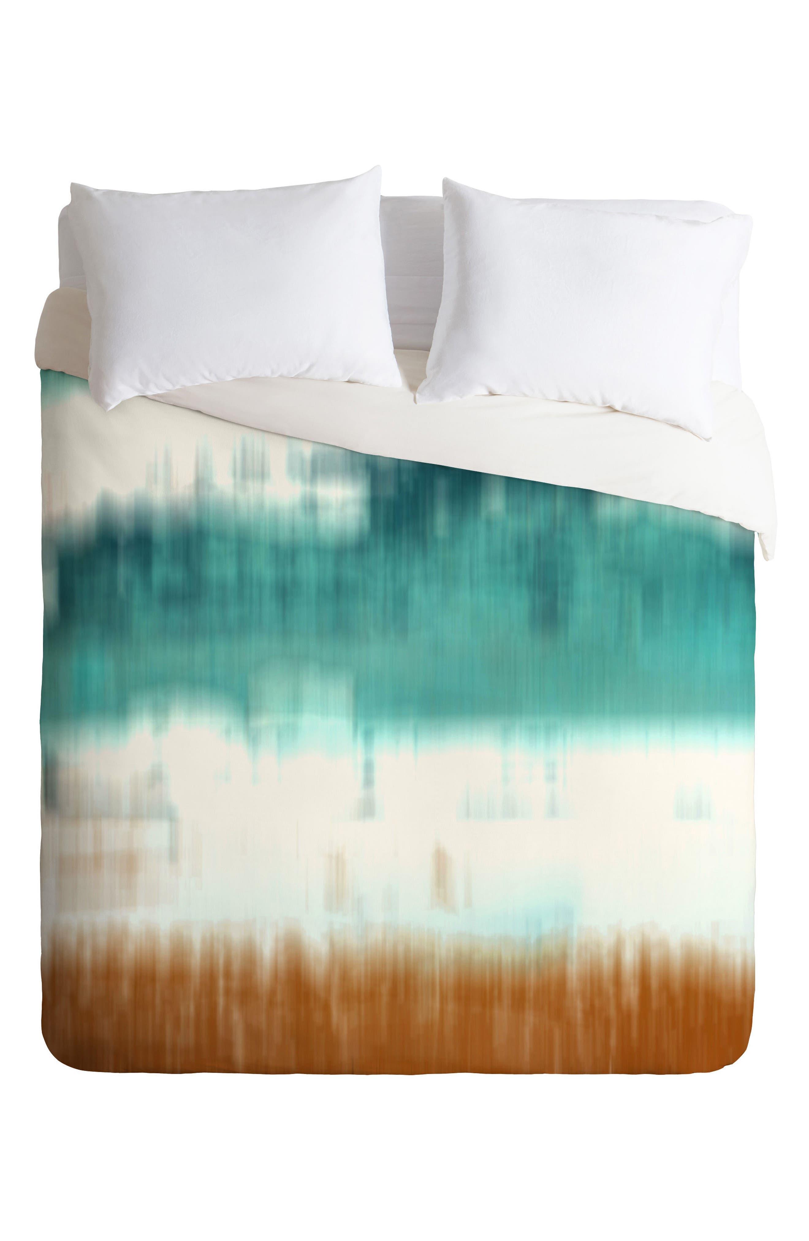 Seascape Duvet Cover & Sham Set,                         Main,                         color, 440