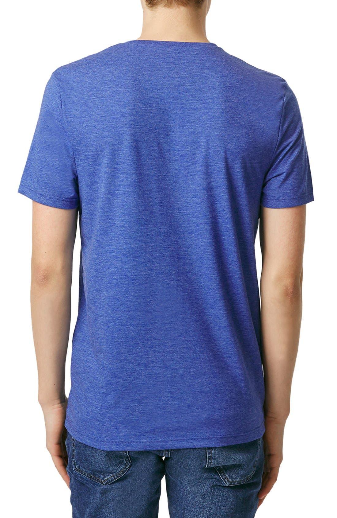 Slim Fit Crewneck T-Shirt,                             Alternate thumbnail 167, color,