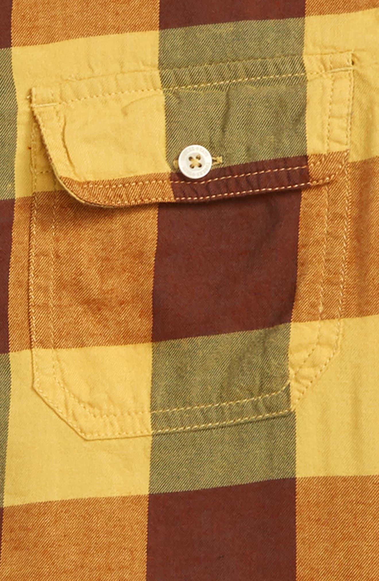 Plaid Flannel Shirt,                             Alternate thumbnail 2, color,                             701