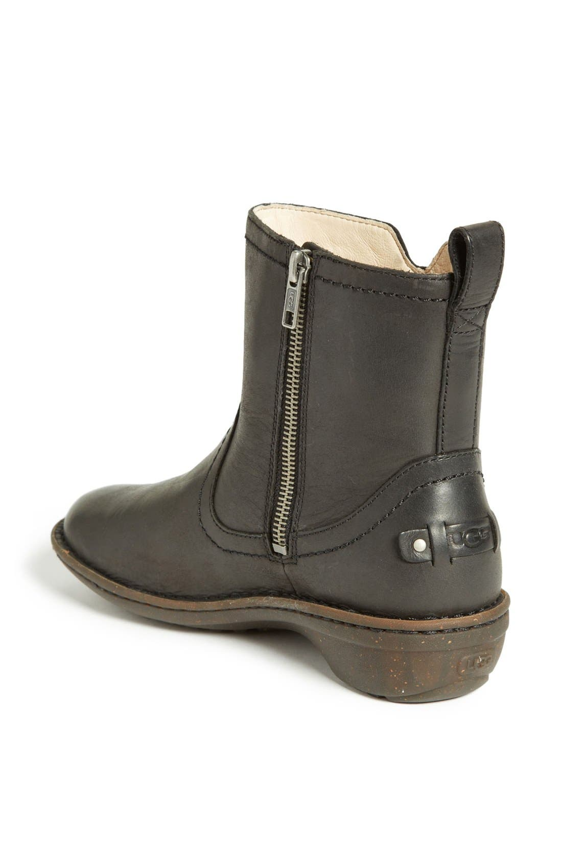 UGG<SUP>®</SUP>,                             'Neevah' Bootie,                             Alternate thumbnail 3, color,                             001