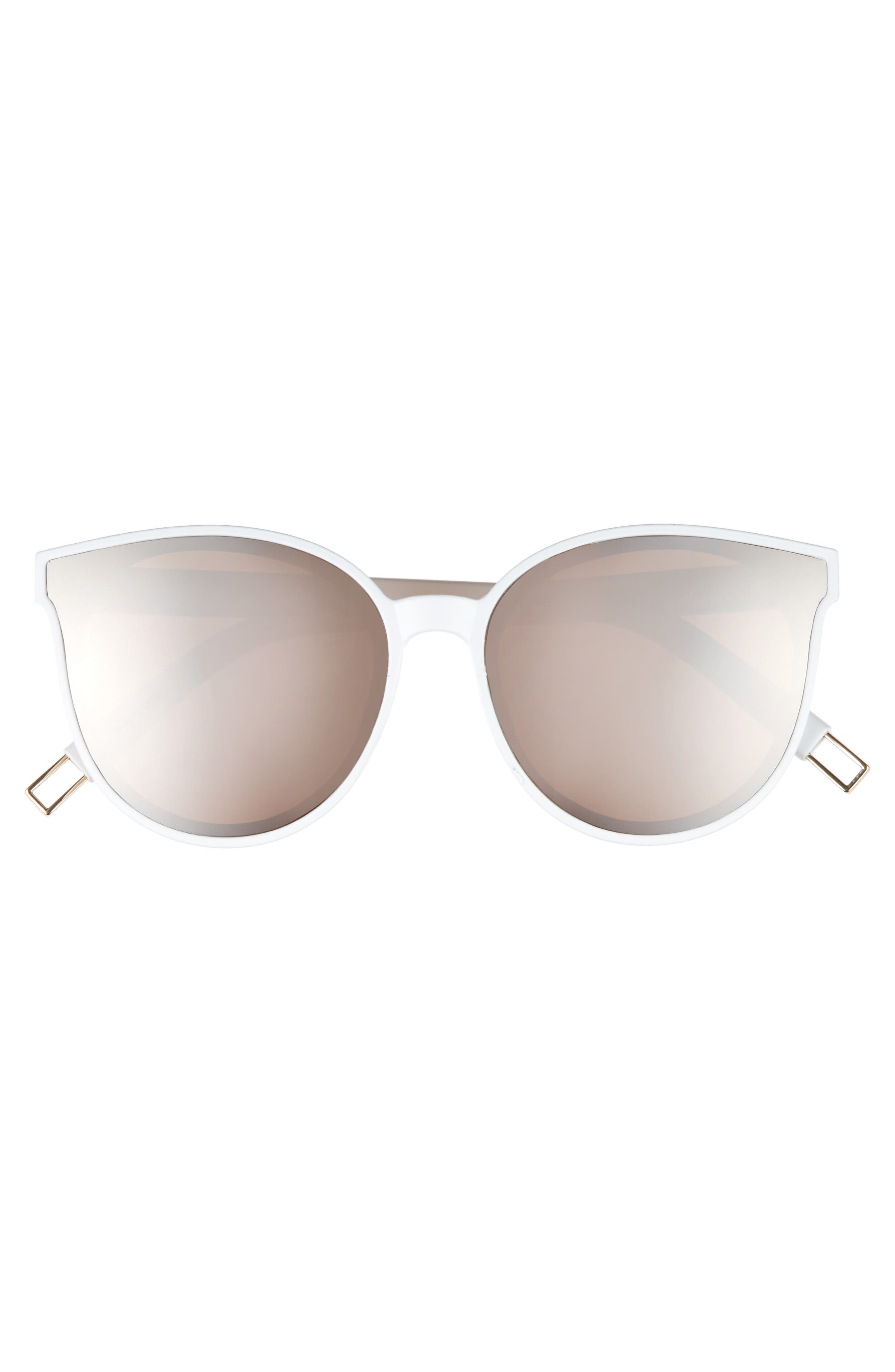 59mm Metal Tip Round Sunglasses,                             Alternate thumbnail 15, color,