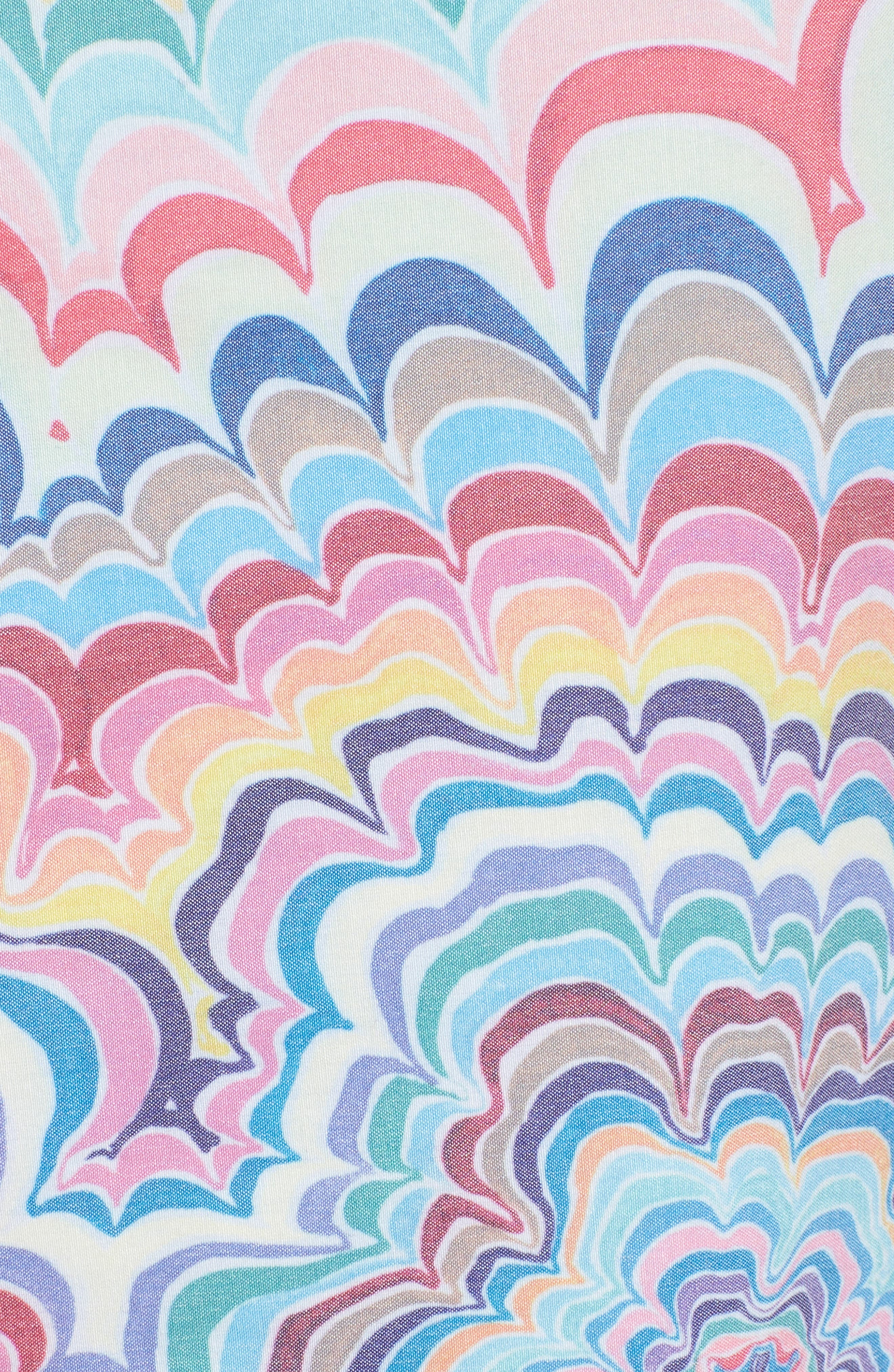 Kelsey Psych Swim Trunks,                             Alternate thumbnail 5, color,                             950