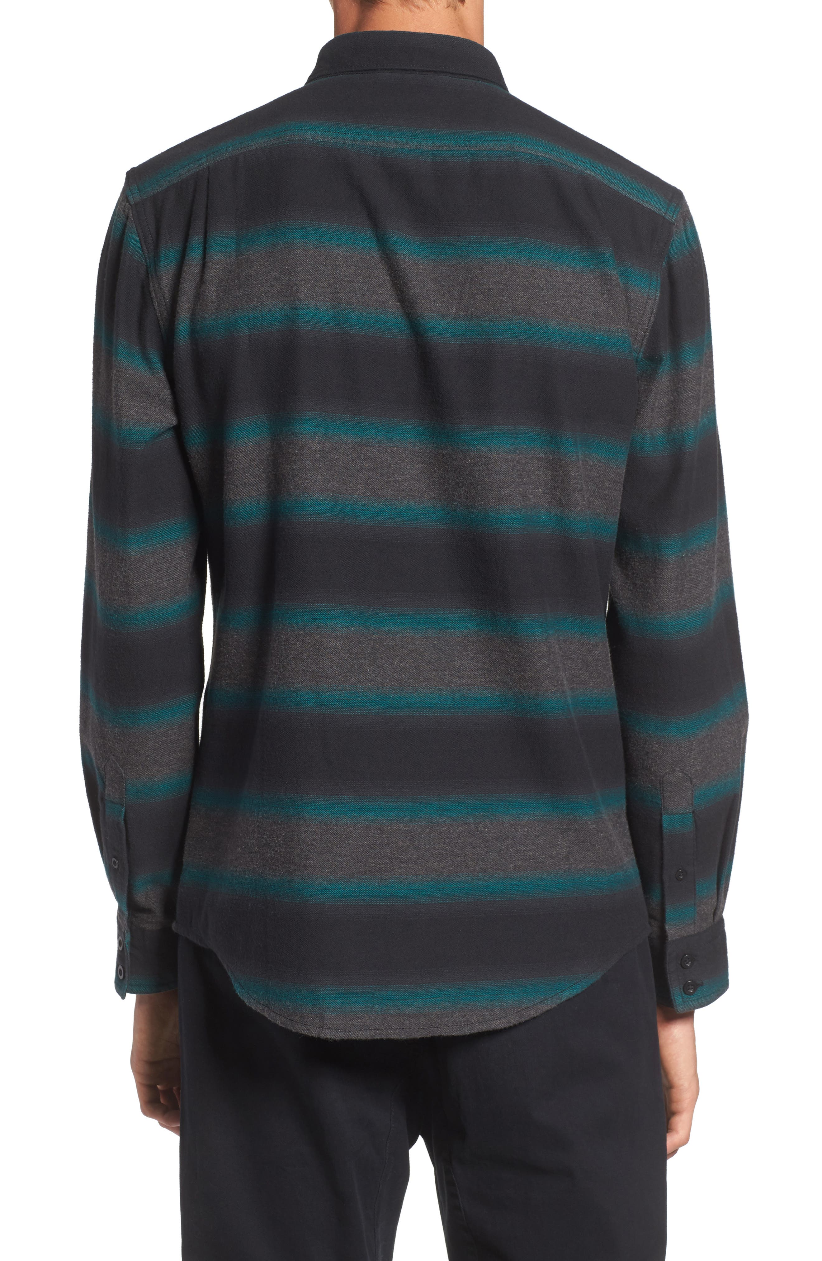 Brushed Ombré Shirt,                             Alternate thumbnail 2, color,