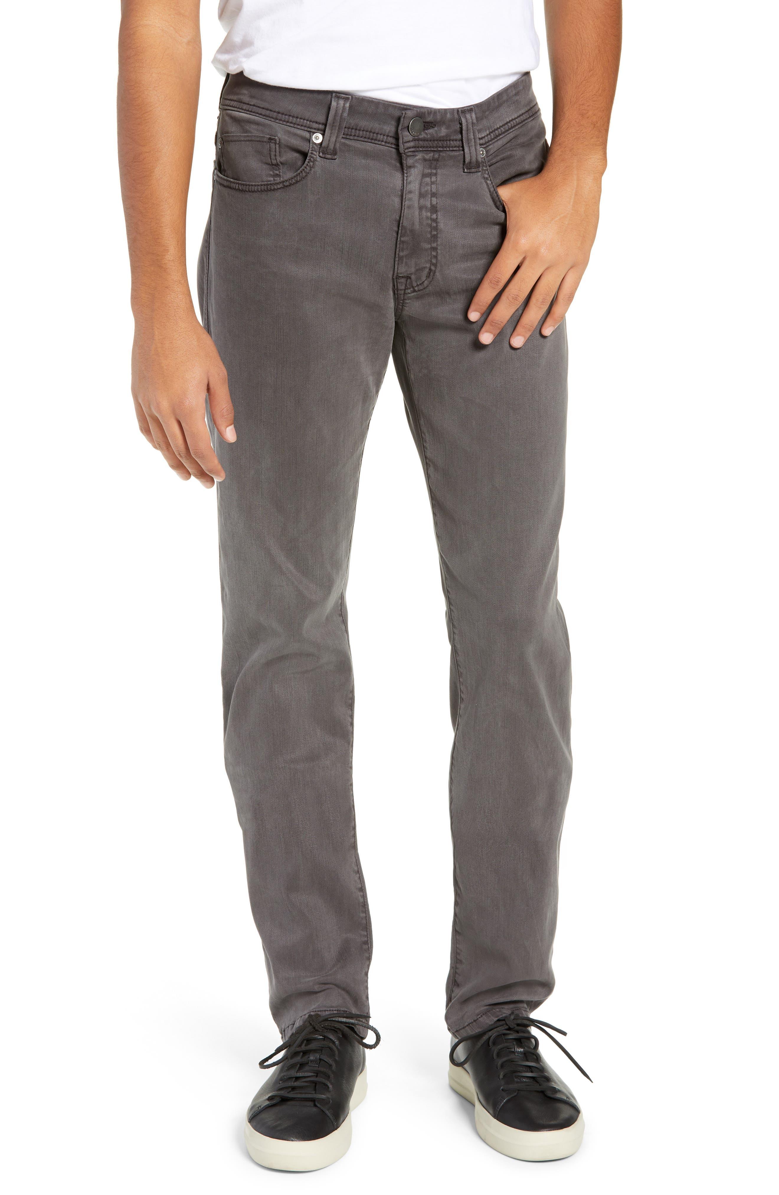 Jimmy Slim Straight Leg Jeans,                             Main thumbnail 1, color,                             LEAD