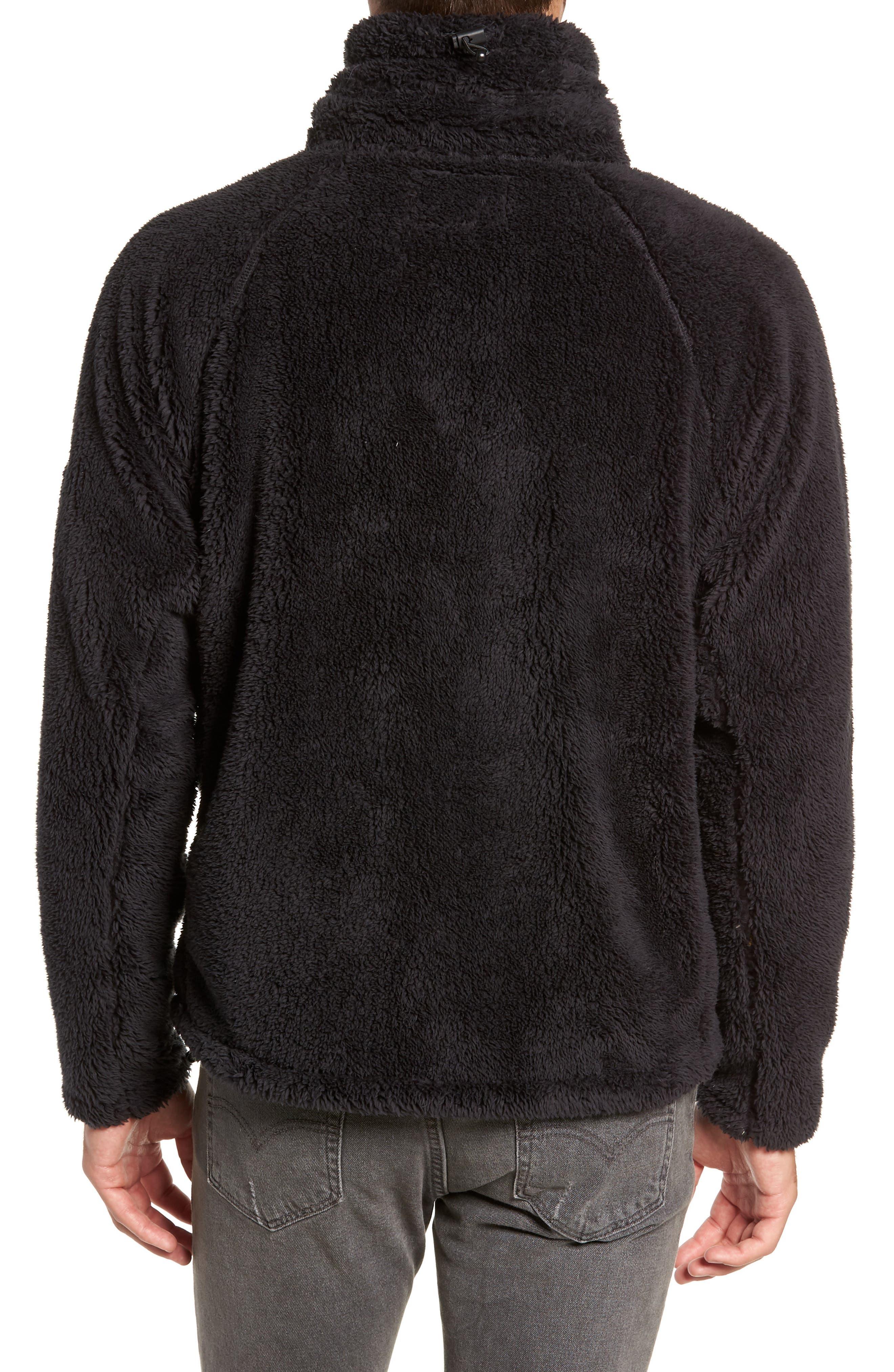 Breakheart Zip Fleece Jacket,                             Alternate thumbnail 2, color,                             001