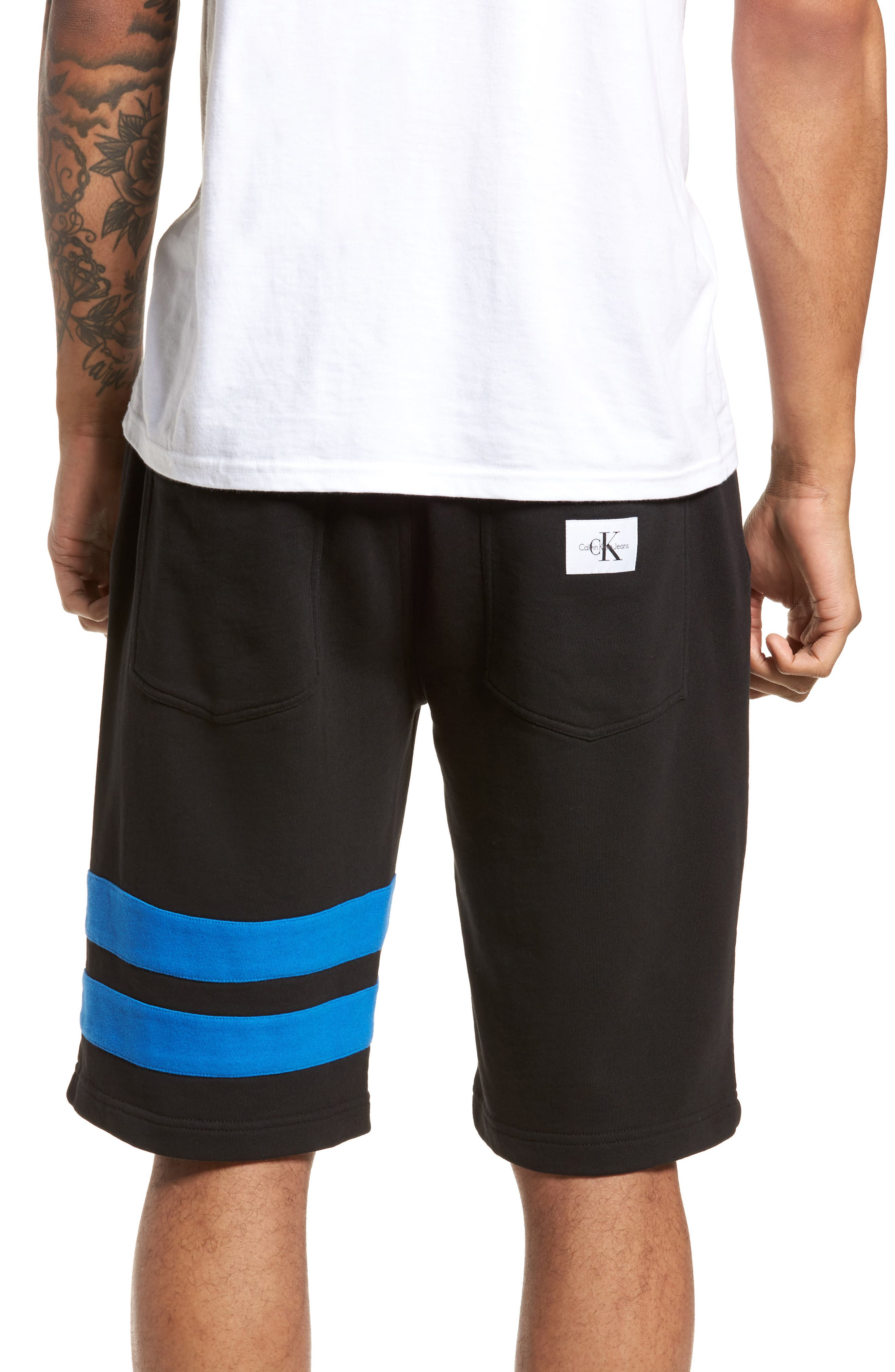 Stripe Athletic Shorts,                             Alternate thumbnail 2, color,                             010