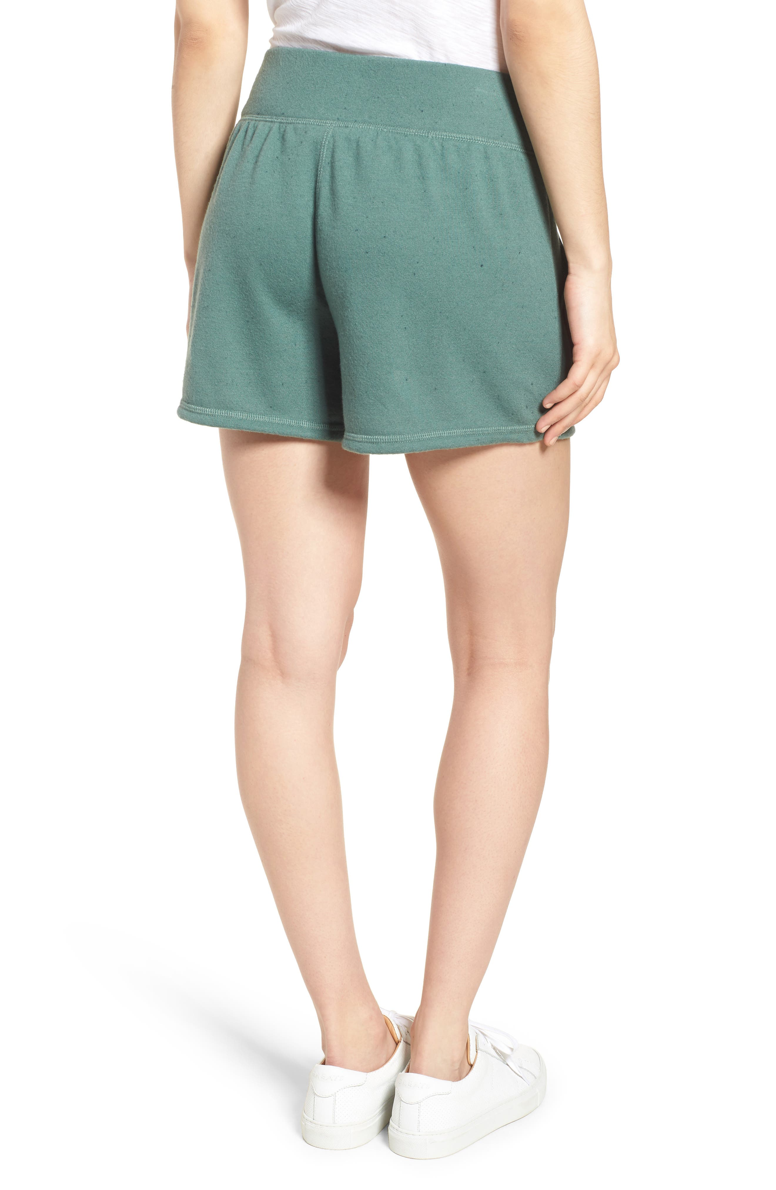 Off-Duty French Terry Shorts,                             Alternate thumbnail 9, color,