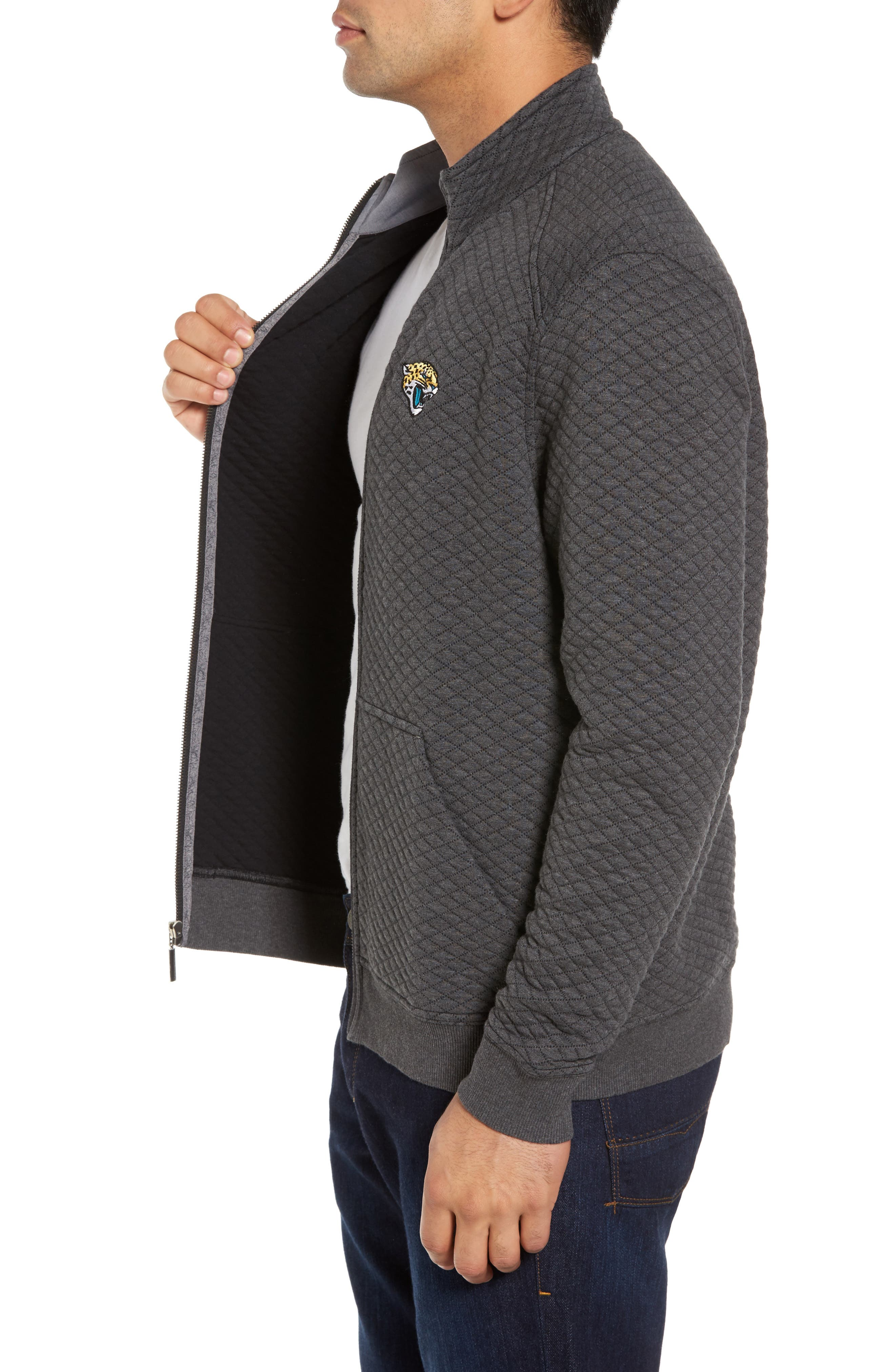 NFL Quiltessential Full Zip Sweatshirt,                             Alternate thumbnail 78, color,