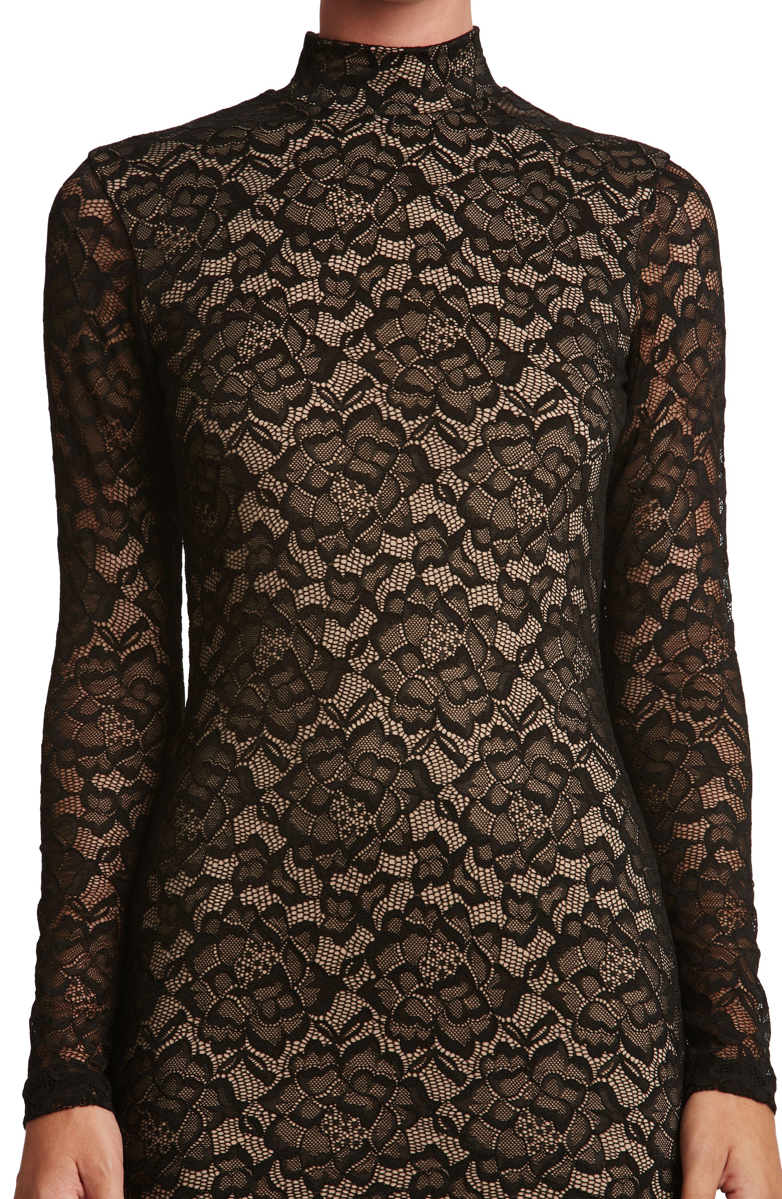 Penelope Body-Con Dress,                             Alternate thumbnail 3, color,                             002