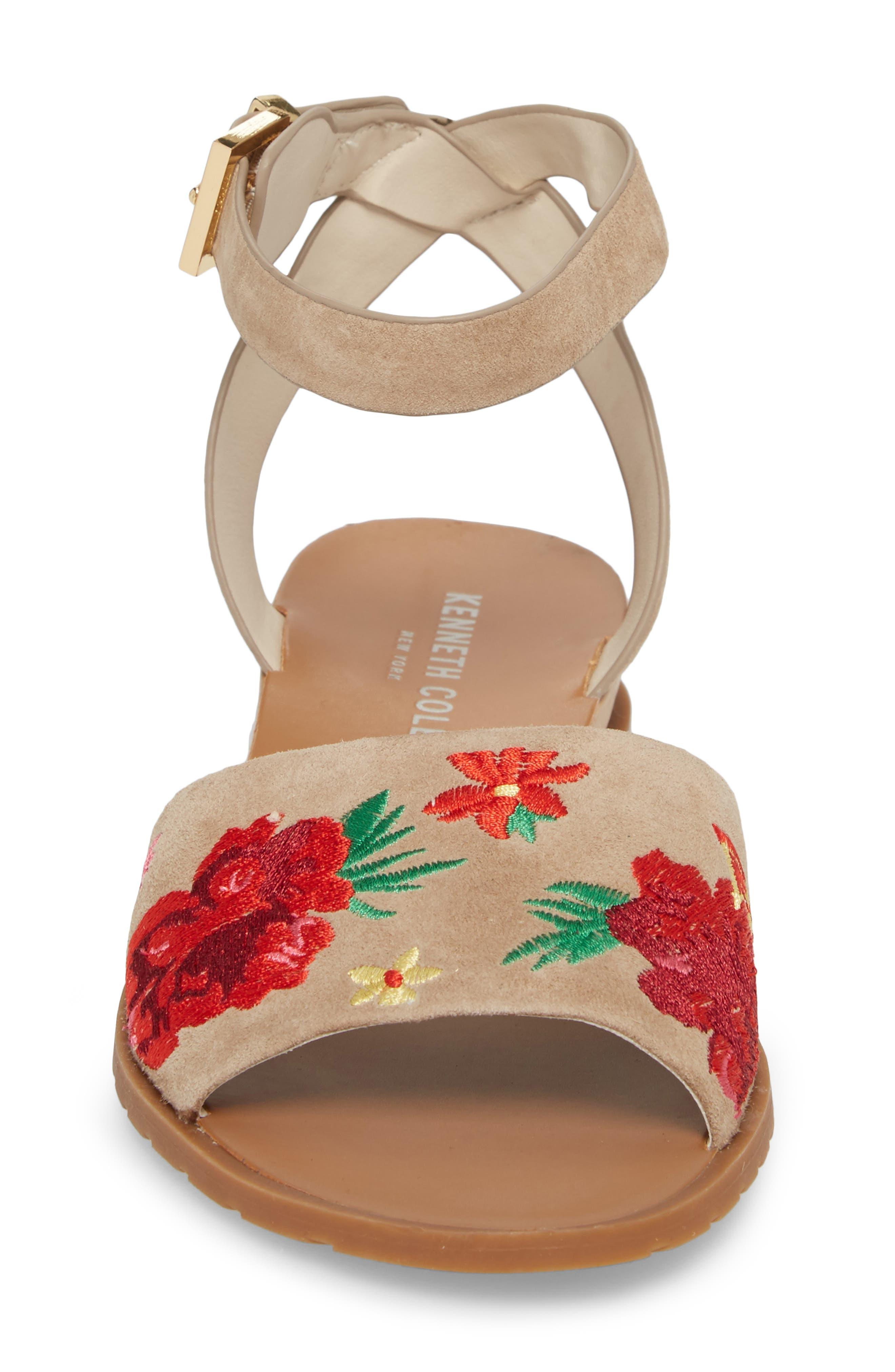 Jinny Ankle Strap Sandal,                             Alternate thumbnail 4, color,                             250
