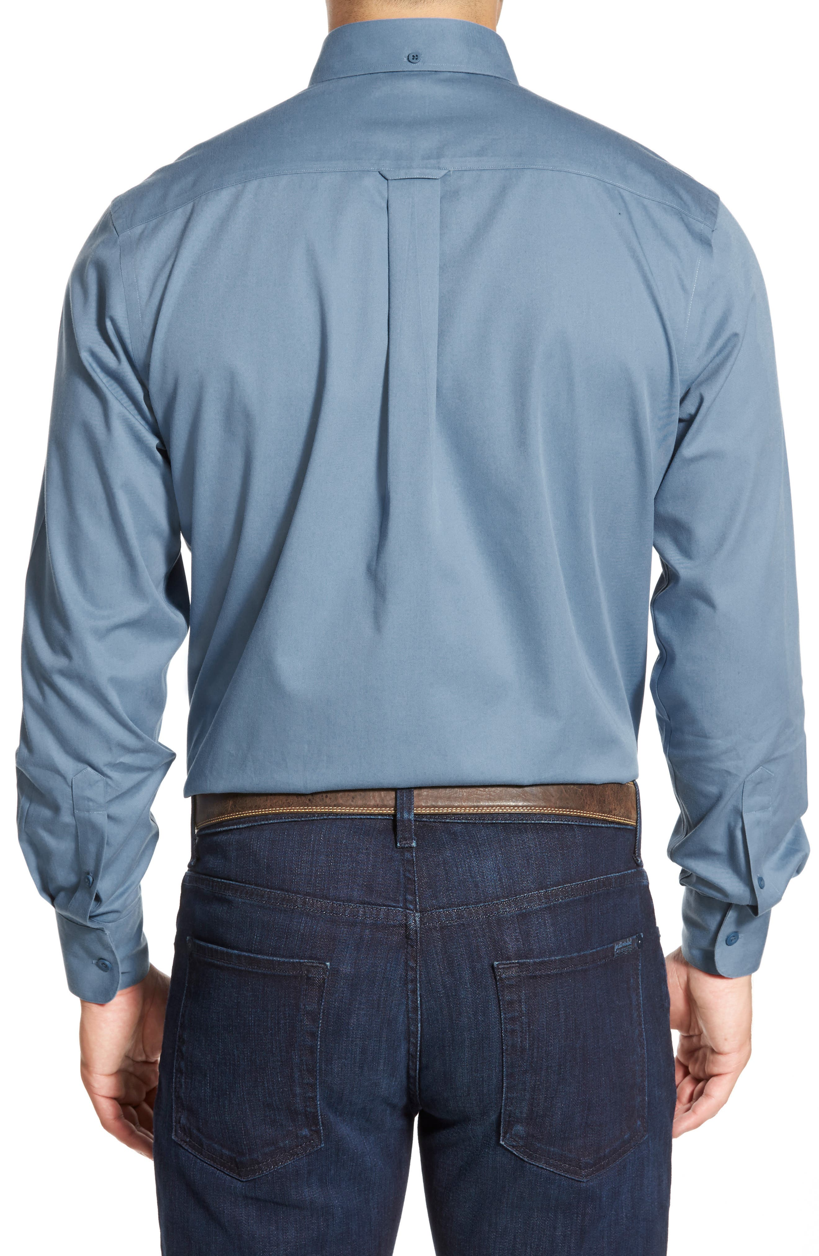 Smartcare<sup>™</sup> Traditional Fit Twill Boat Shirt,                             Alternate thumbnail 97, color,