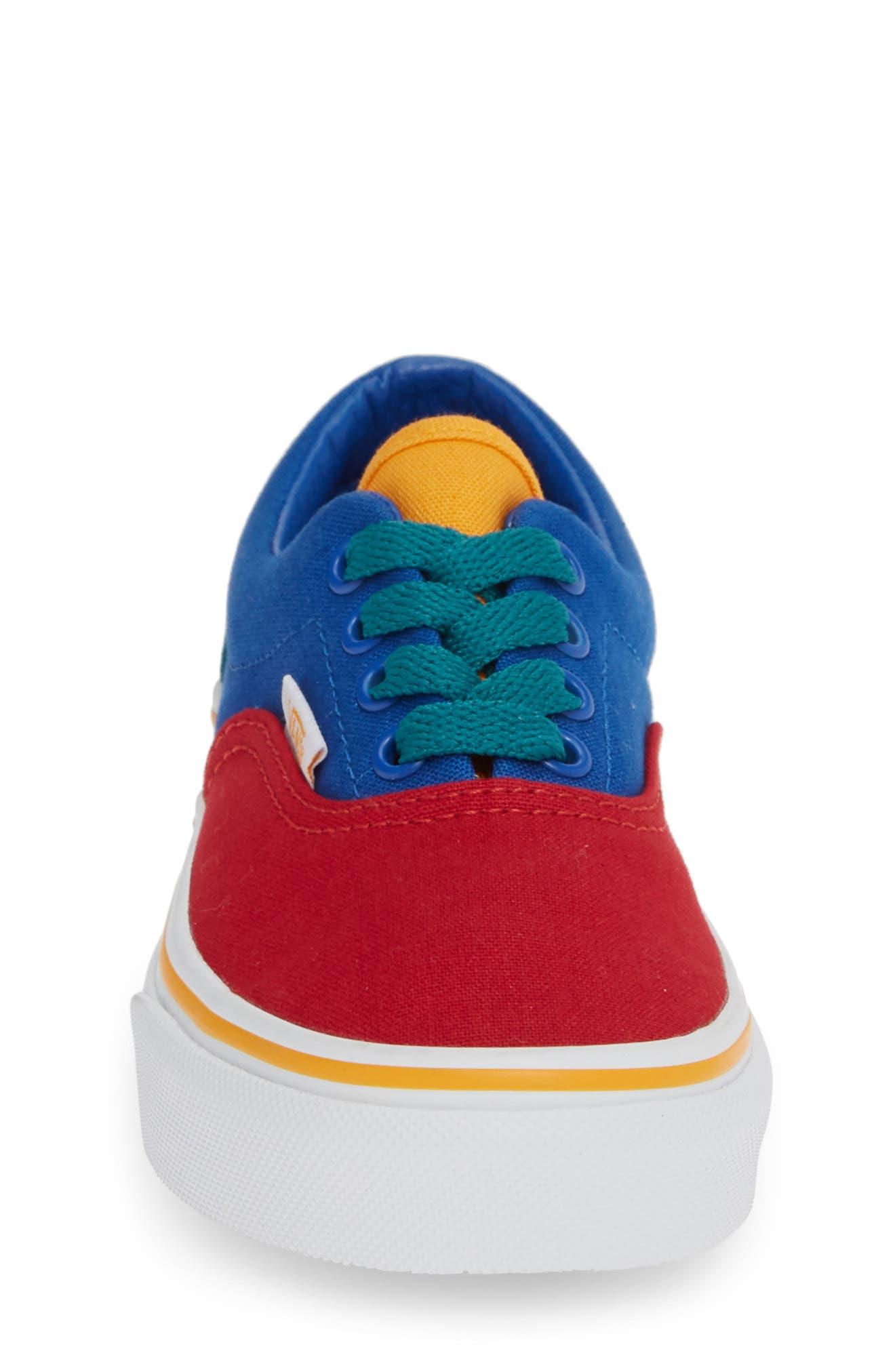 'Era' Sneaker,                             Alternate thumbnail 4, color,                             LAPIS BLUE/ TRUE WHITE