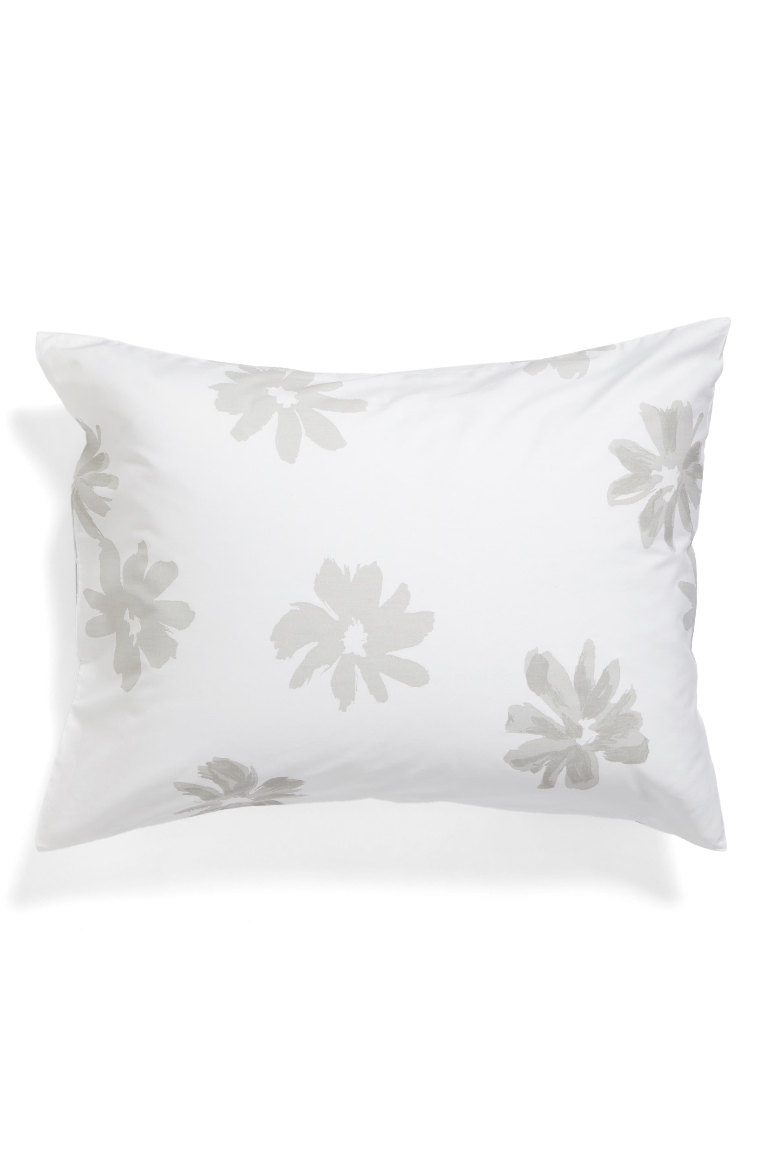 brushstroke garden comforter & sham set,                             Alternate thumbnail 4, color,                             020