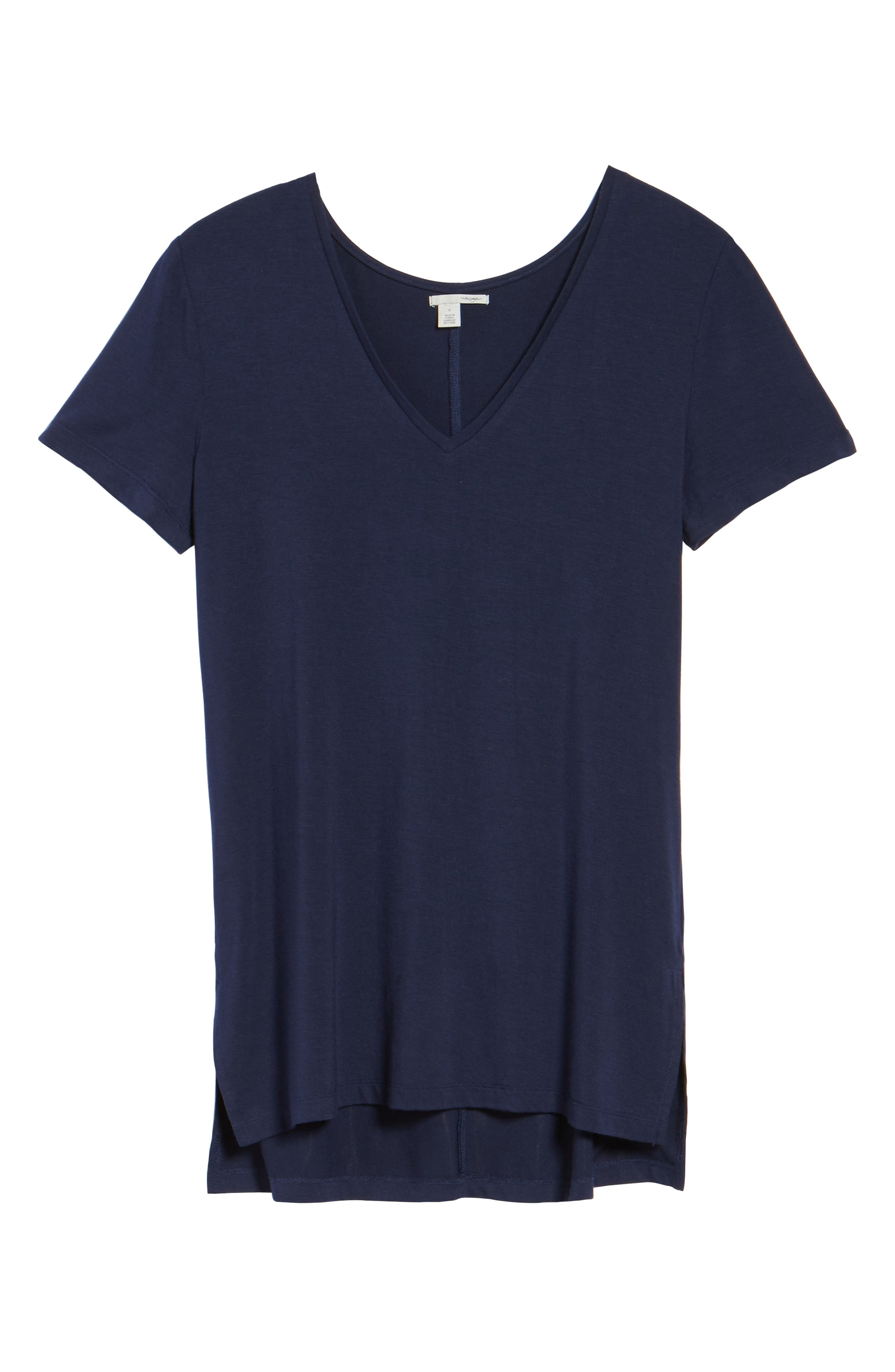 V-Neck Tunic Tee,                             Alternate thumbnail 69, color,