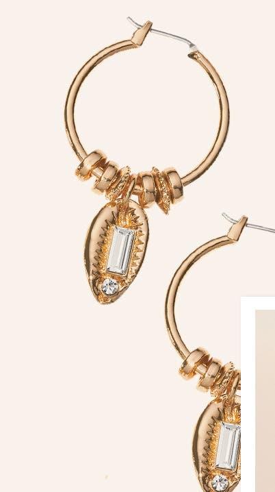 Treasure & Bond earrings. $29.