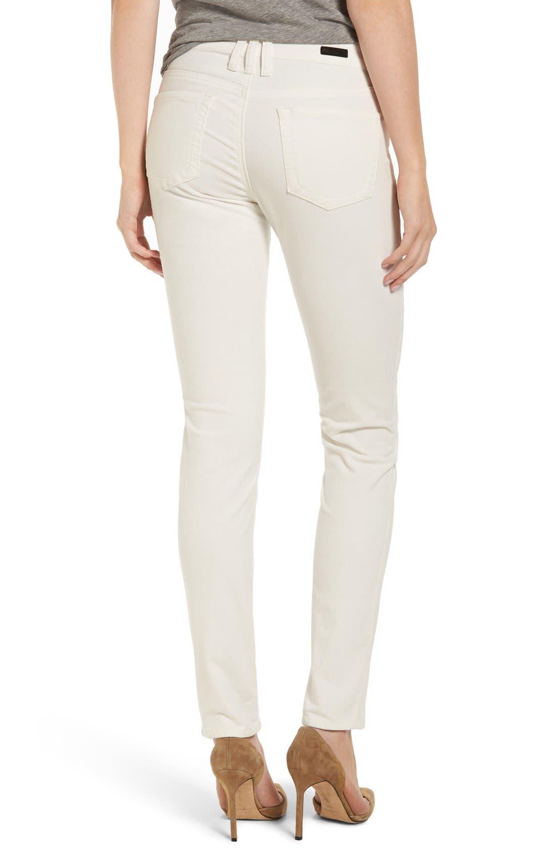 'Diana' Stretch Corduroy Skinny Pants,                             Alternate thumbnail 253, color,