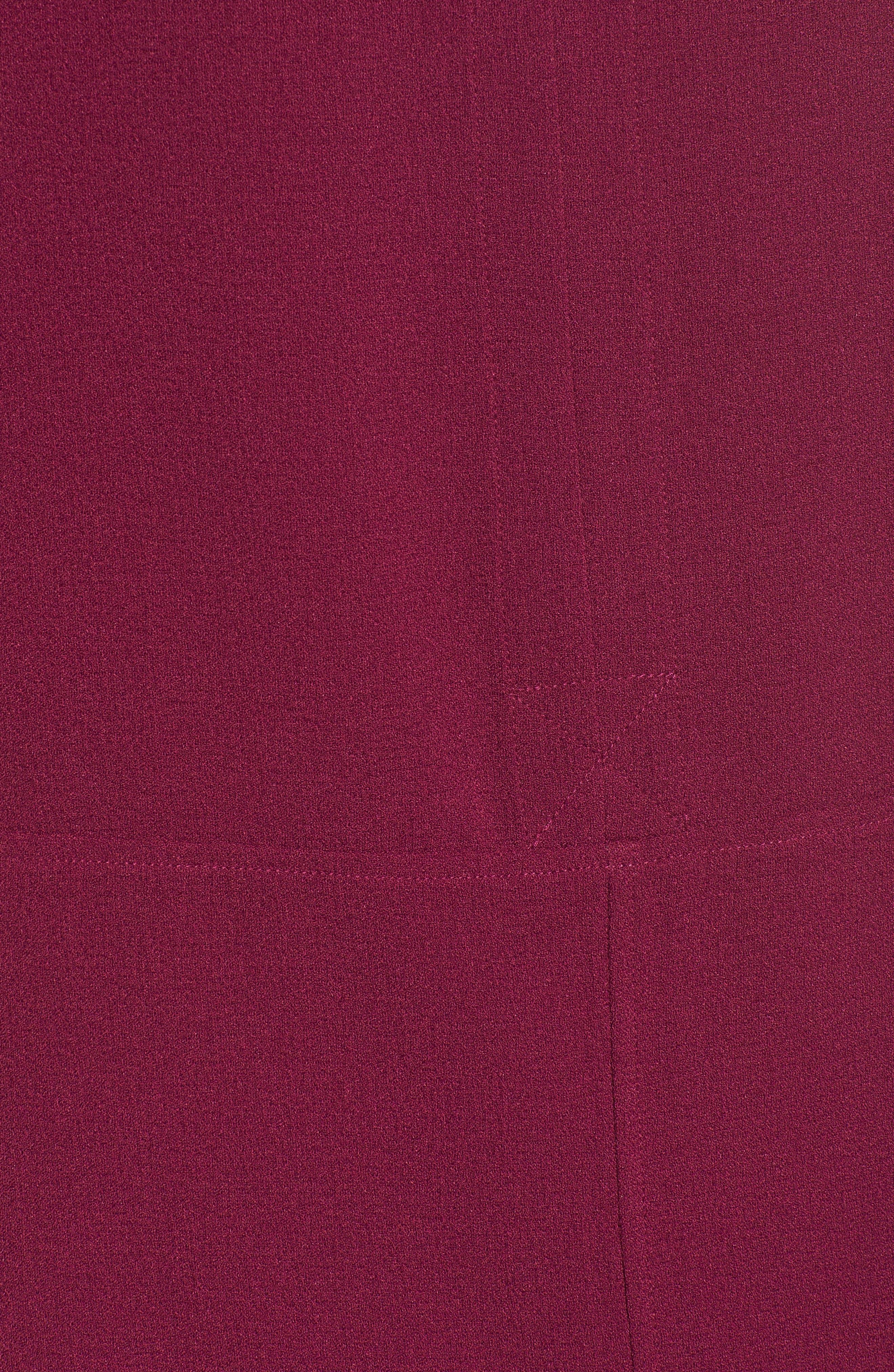 Hailey Crepe Dress,                             Alternate thumbnail 130, color,