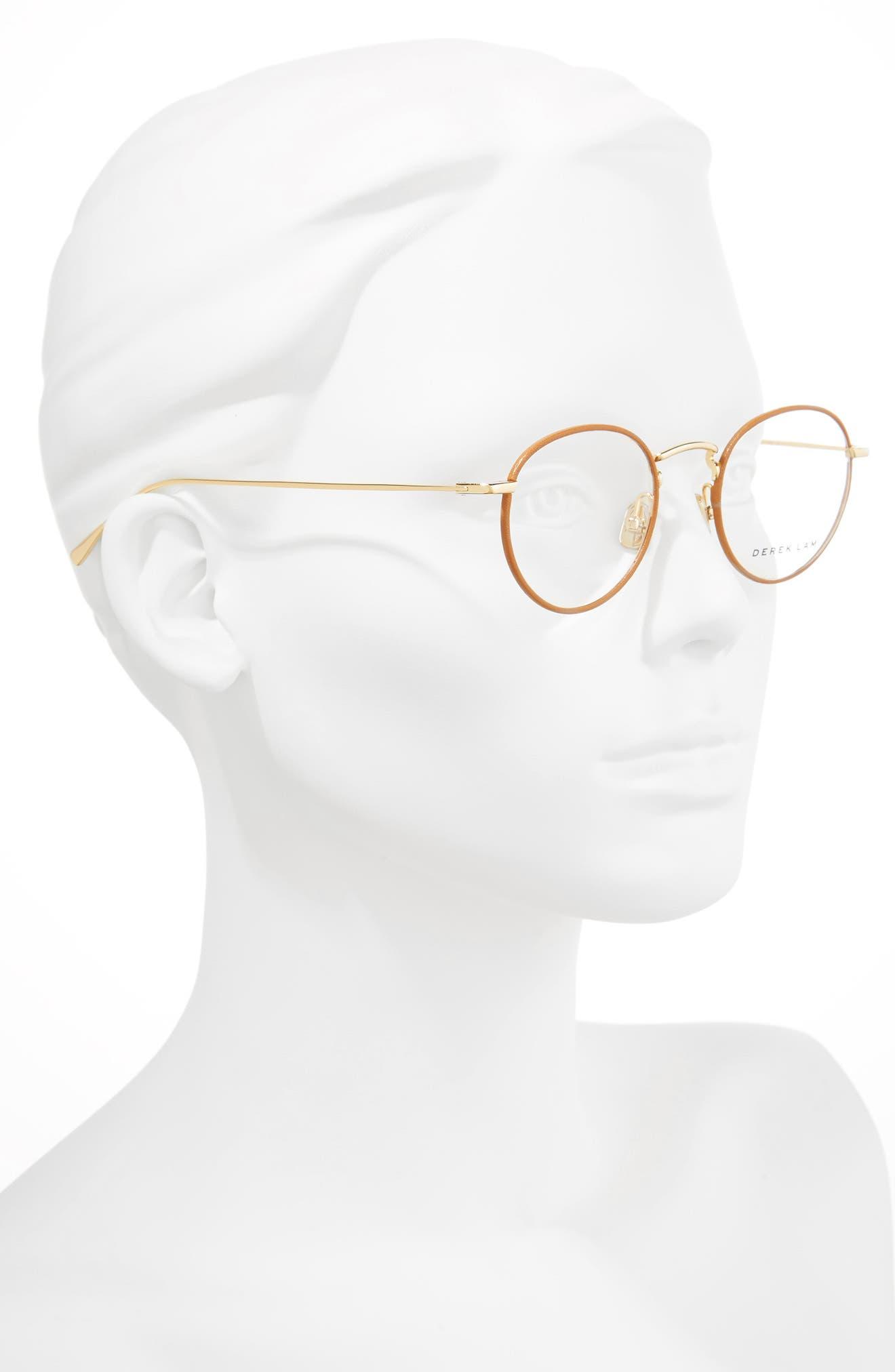 47mm Optical Glasses,                             Alternate thumbnail 2, color,                             TAN