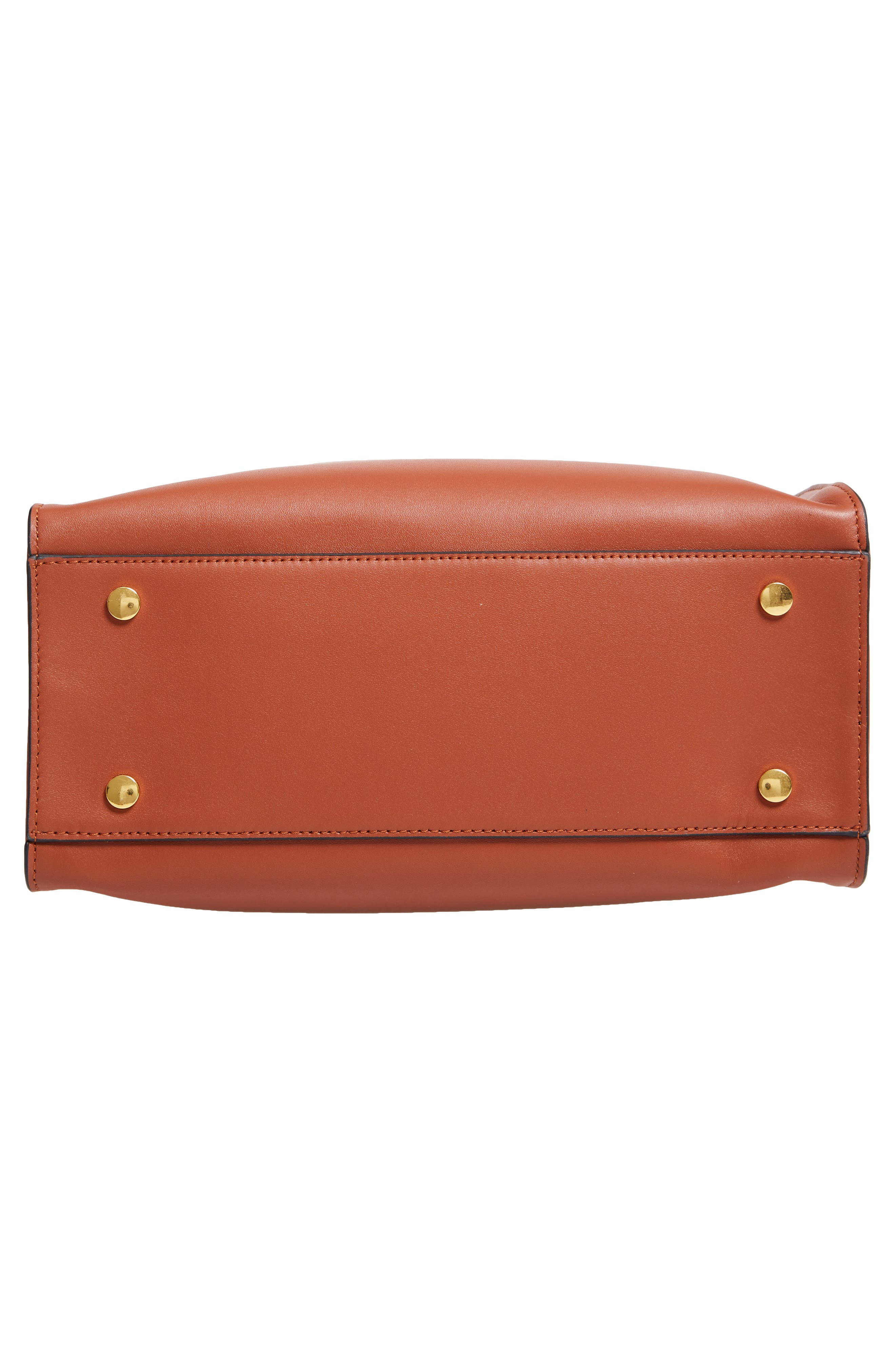 Harriet Leather Box Tote,                             Alternate thumbnail 6, color,