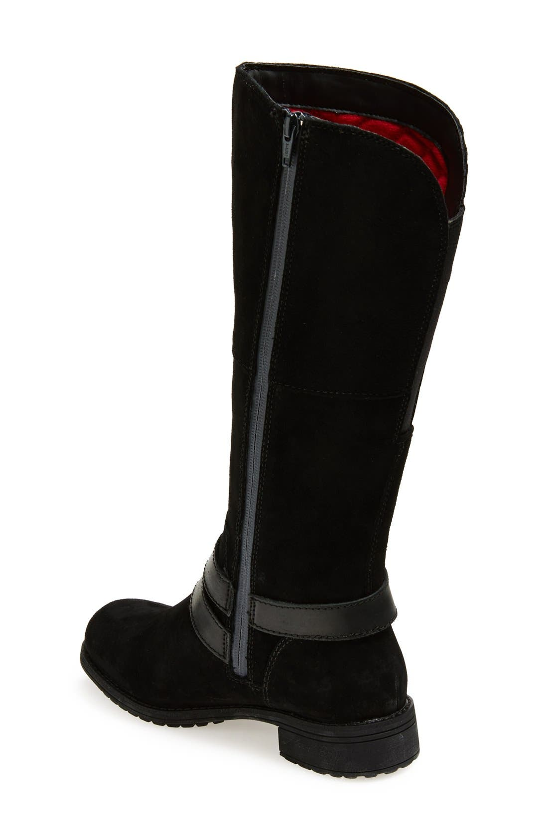 THE NORTH FACE,                             'Bridgeton' Waterproof Heatseeker<sup>™</sup> Insulated Riding Boot,                             Alternate thumbnail 2, color,                             001