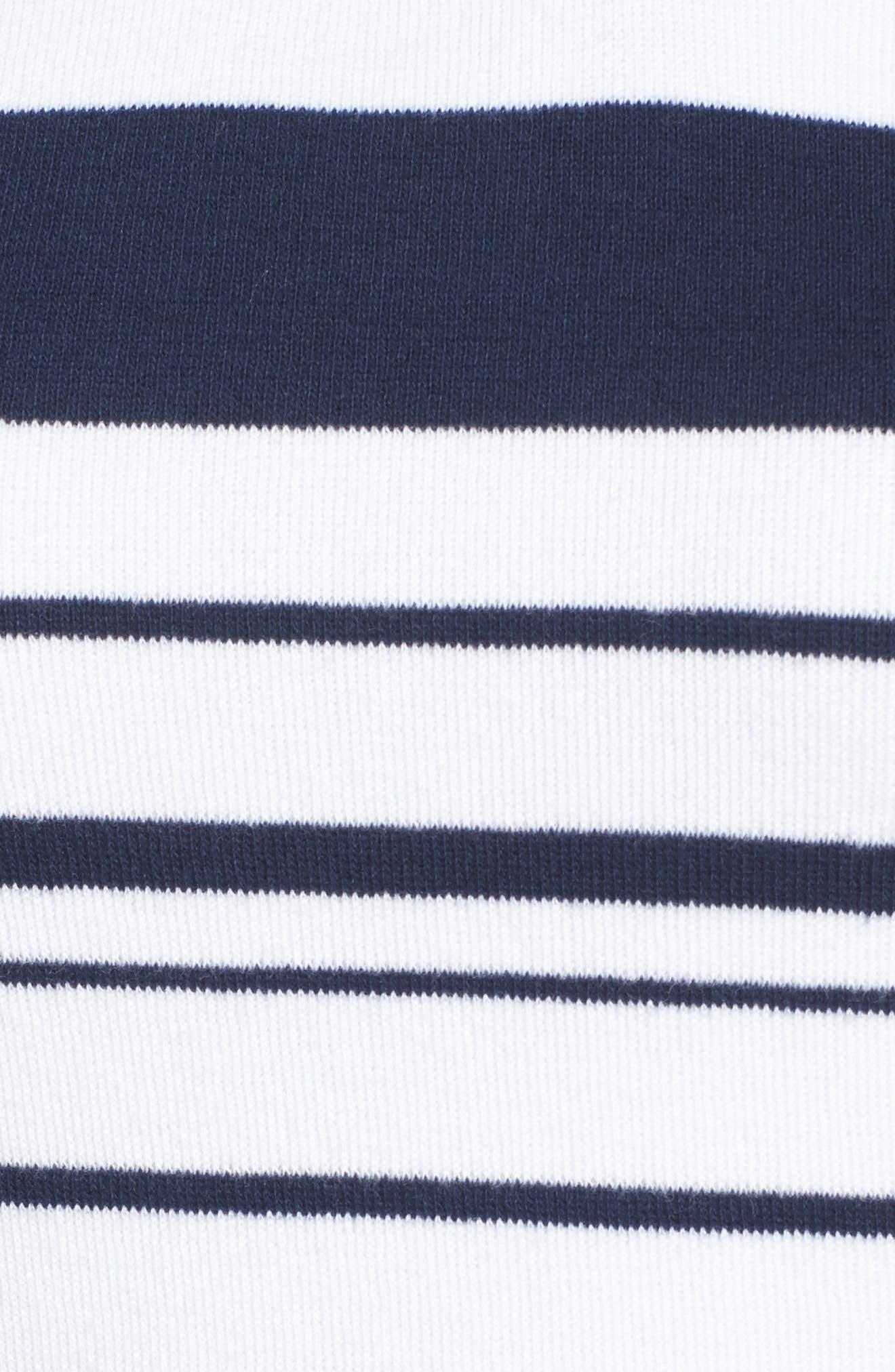 TOMMY BAHAMA,                             Aruba Stripe Hoodie,                             Alternate thumbnail 5, color,                             400