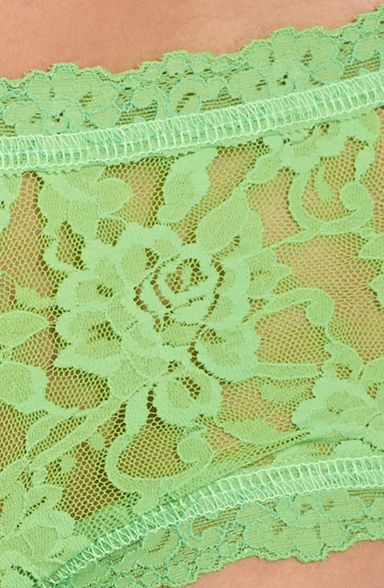 'Signature Lace' Boyshorts,                             Alternate thumbnail 390, color,