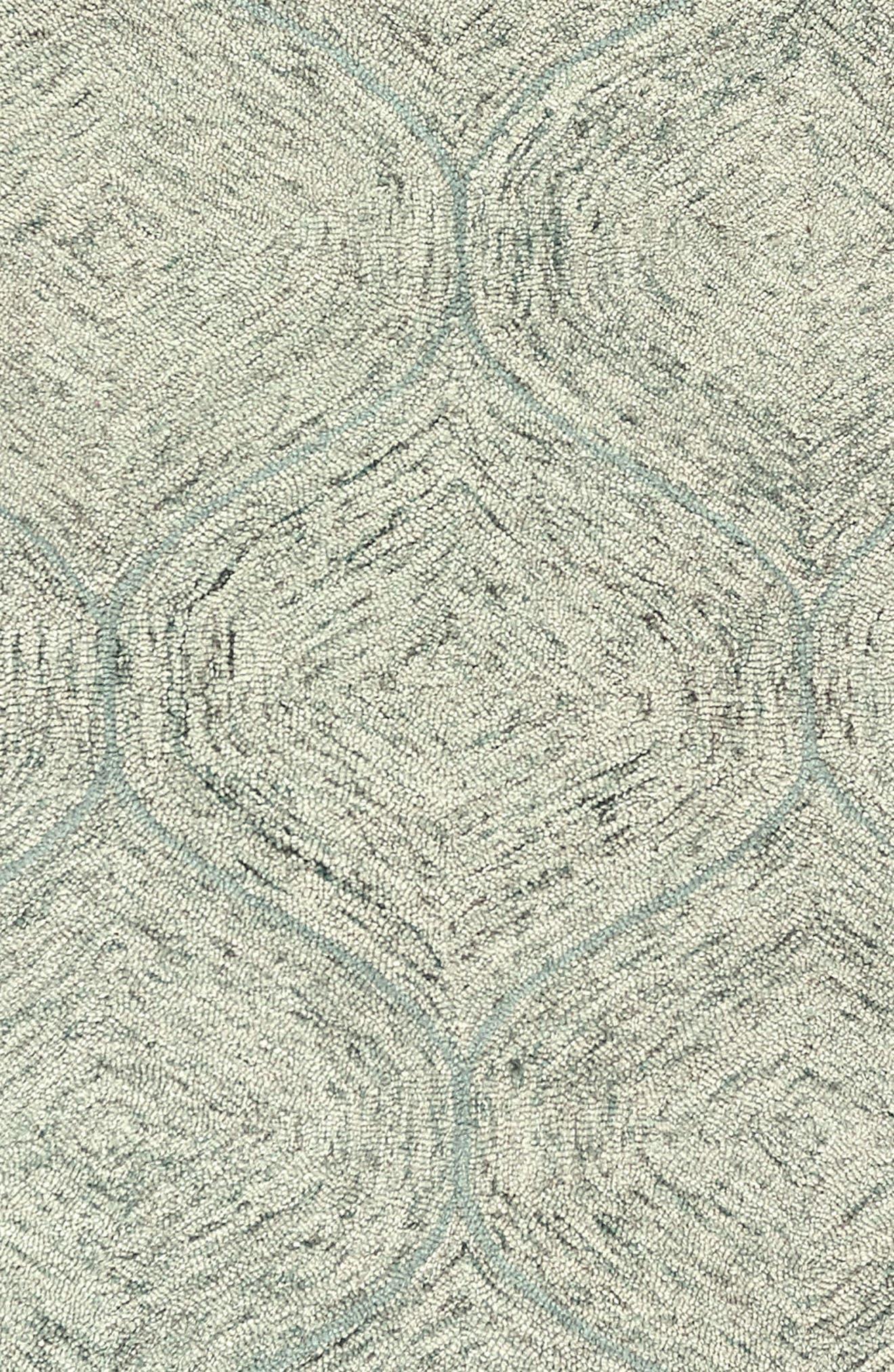 Irregular Diamond Hand Tufted Wool Area Rug,                             Alternate thumbnail 13, color,