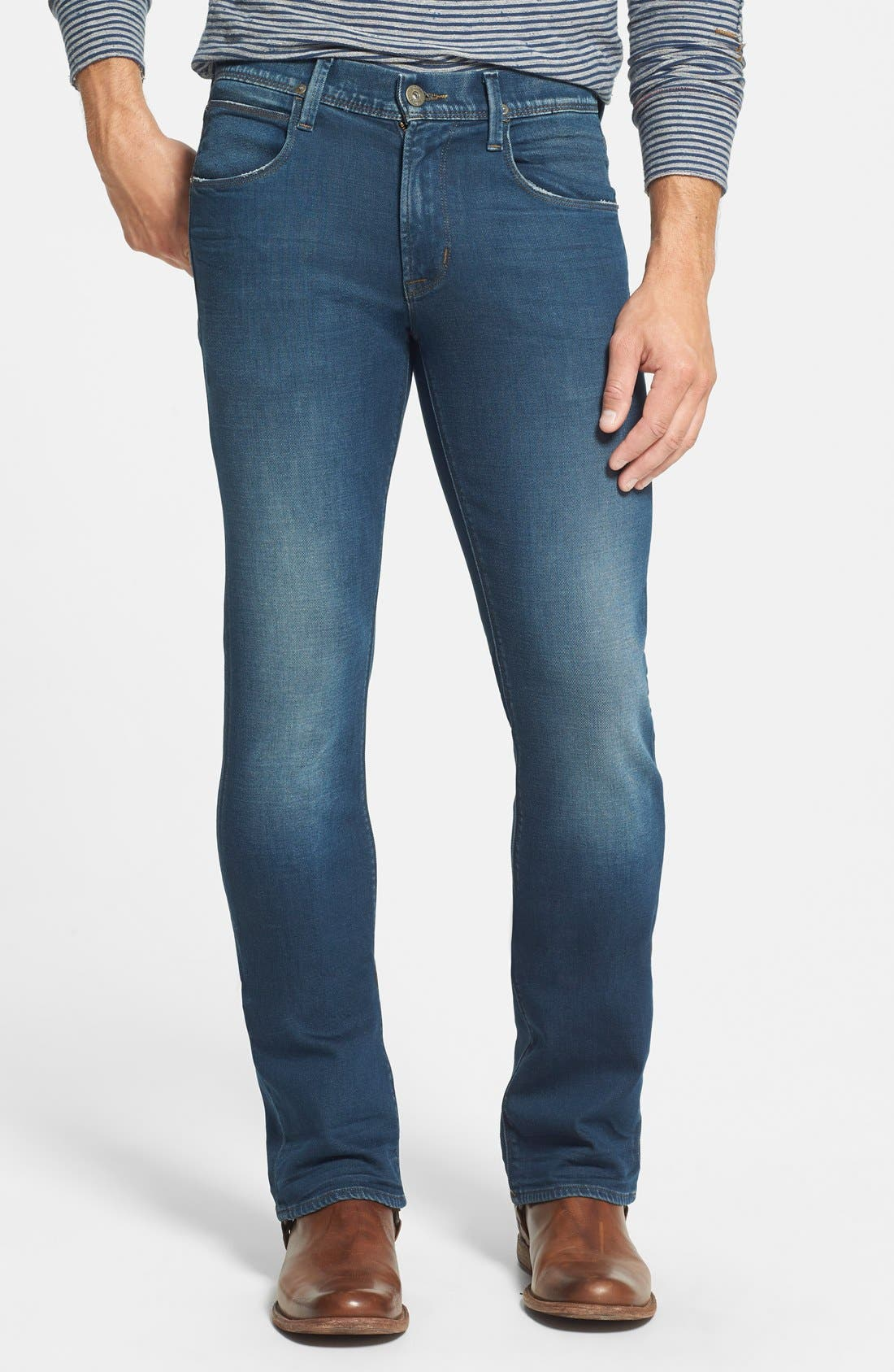 HUDSON JEANS,                             'Clifton' Bootcut Jeans,                             Main thumbnail 1, color,                             403