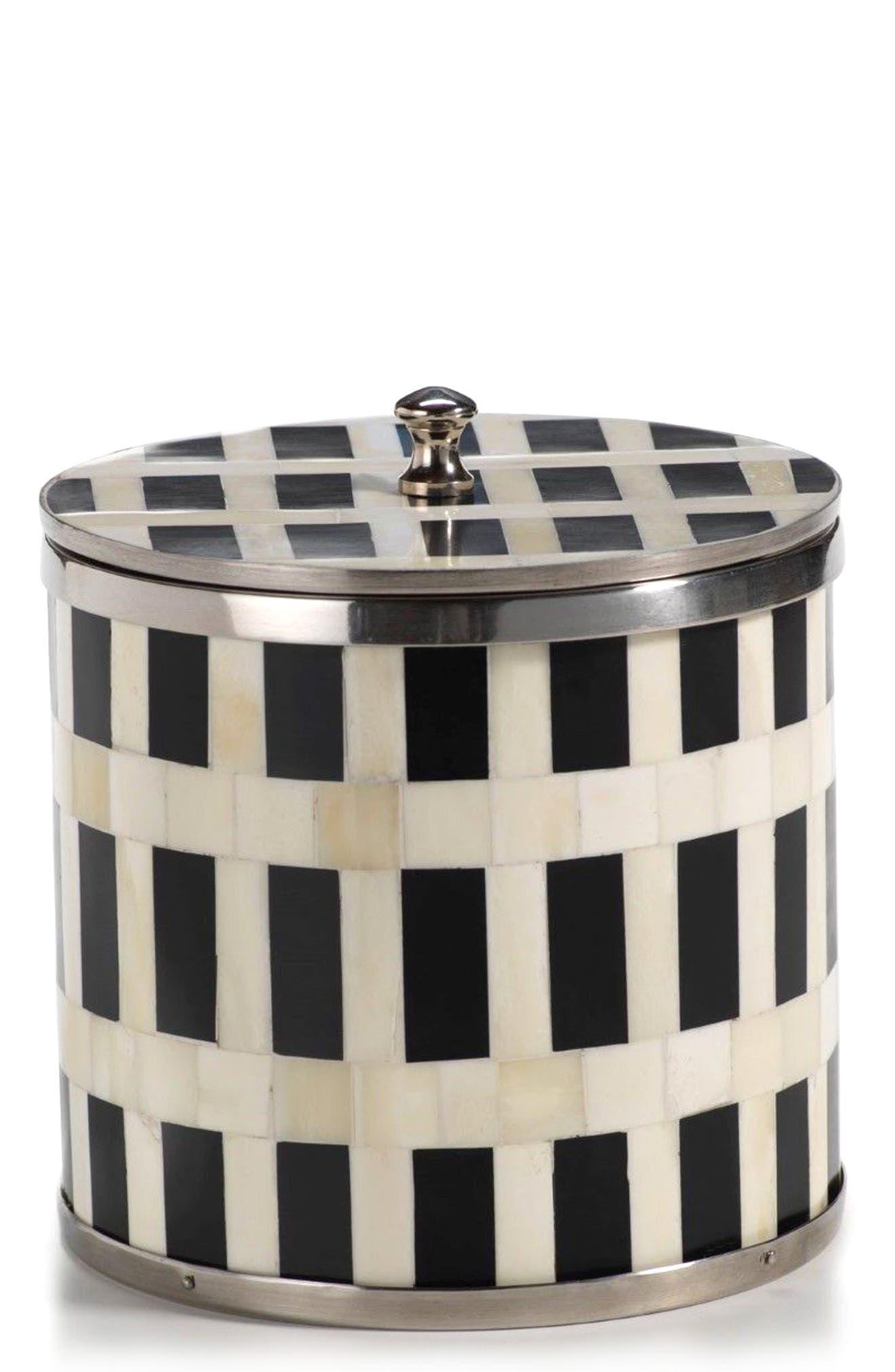 Ivory Coast Bone & Horn Ice Bucket,                         Main,                         color, 001