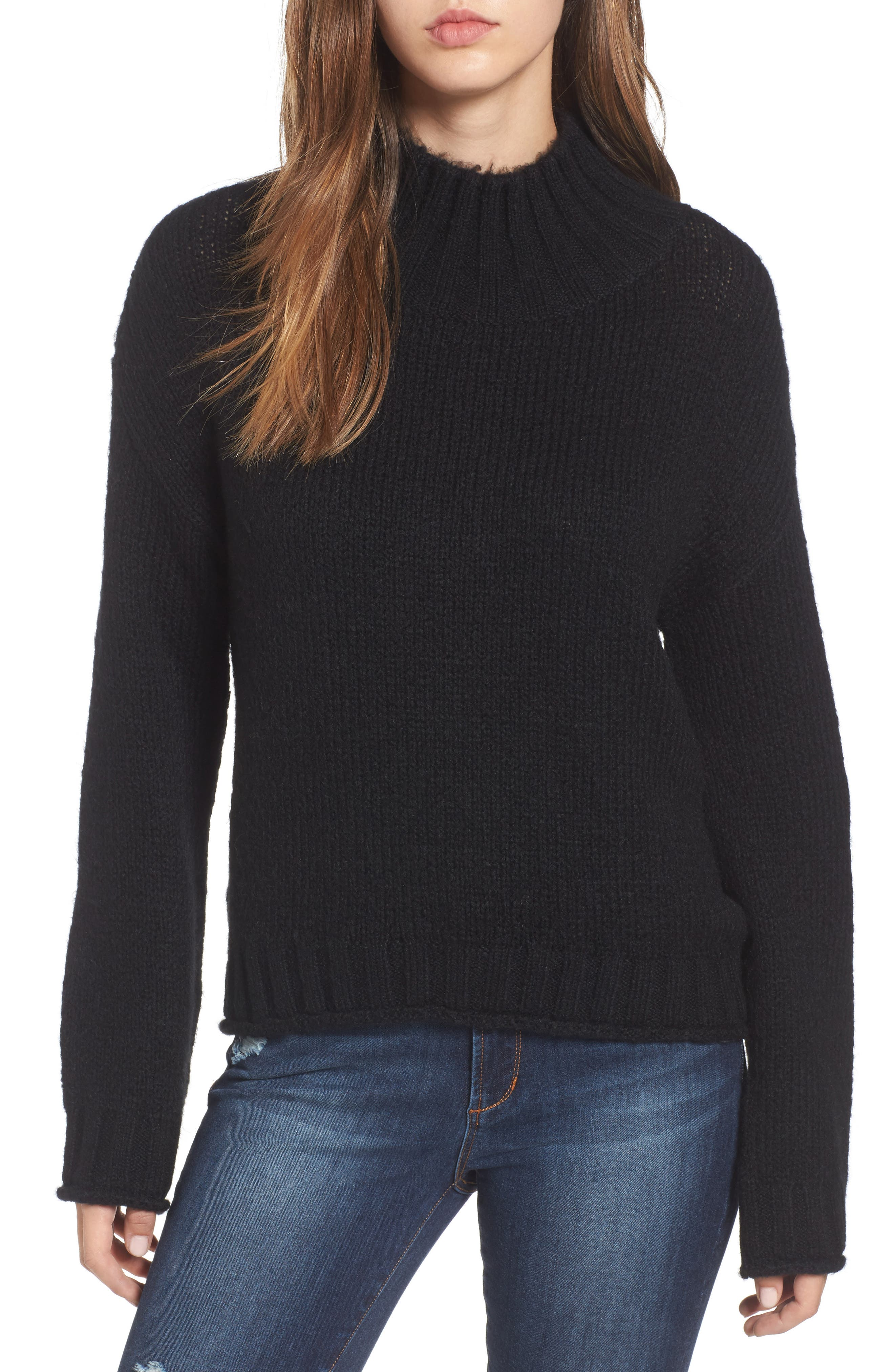 Cozy Mock Neck Sweater,                             Main thumbnail 3, color,