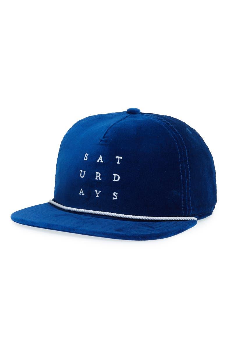 c9e377024ce Saturdays Surf Nyc Stanley Snapback Baseball Cap - Blue In Cobalt ...